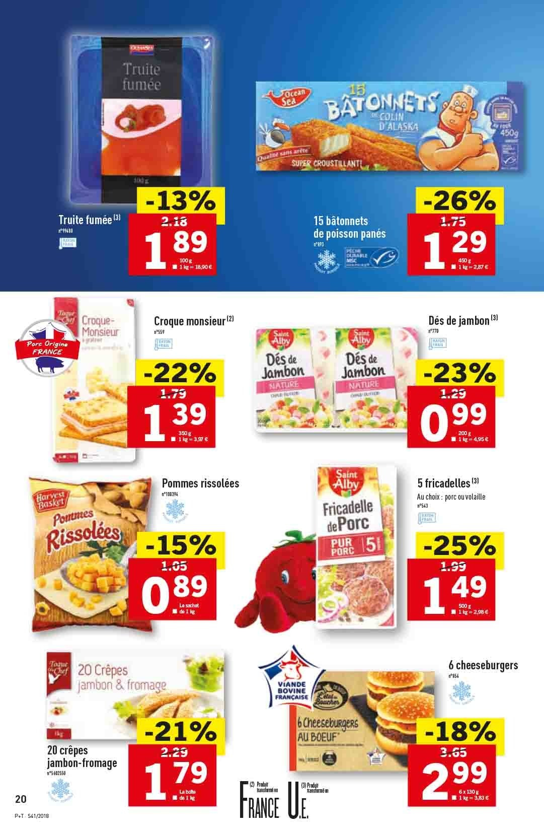 Catalogue Lidl - 10.10.2018 - 16.10.2018. Page 20.