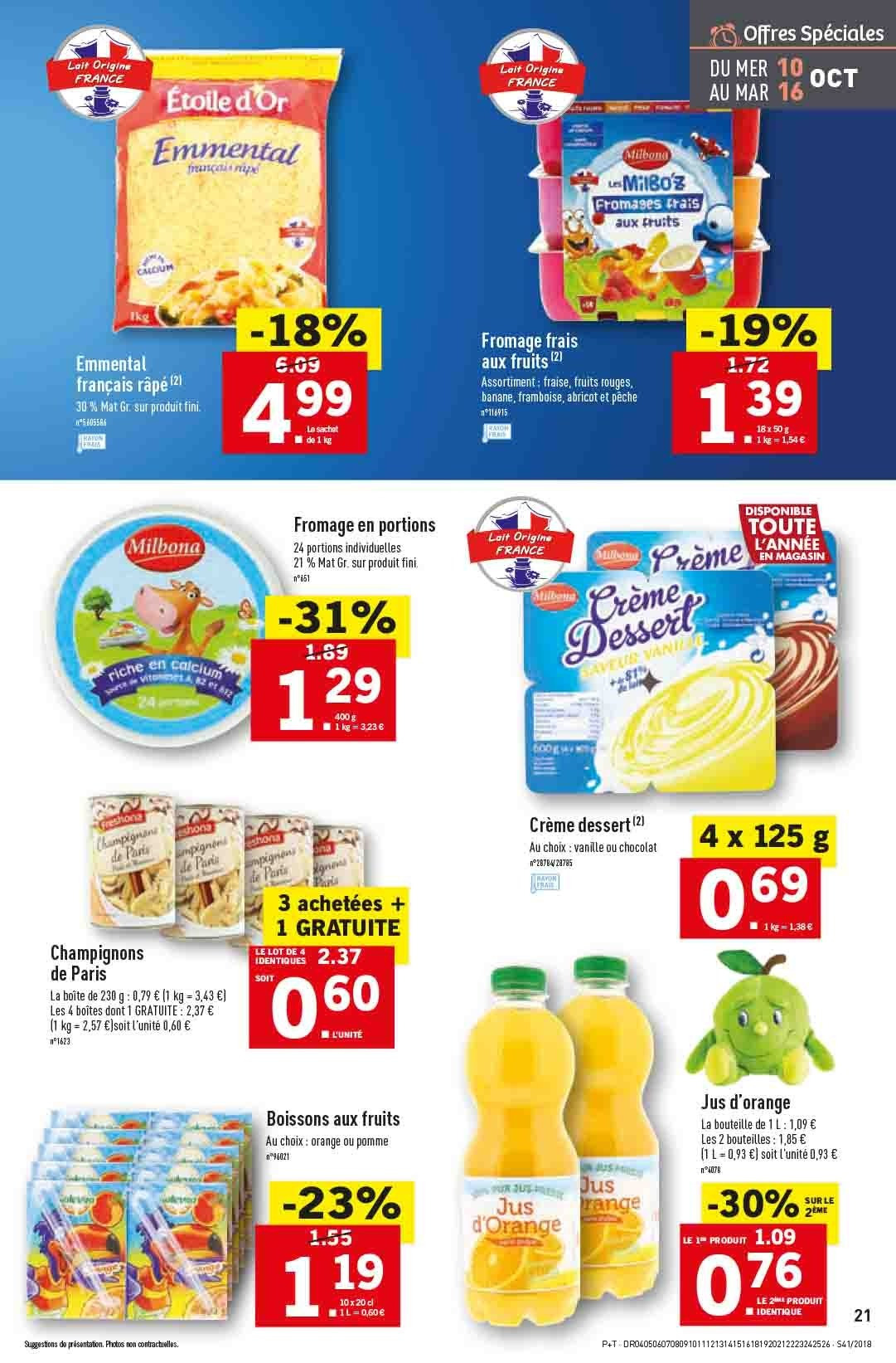 Catalogue Lidl - 10.10.2018 - 16.10.2018. Page 21.