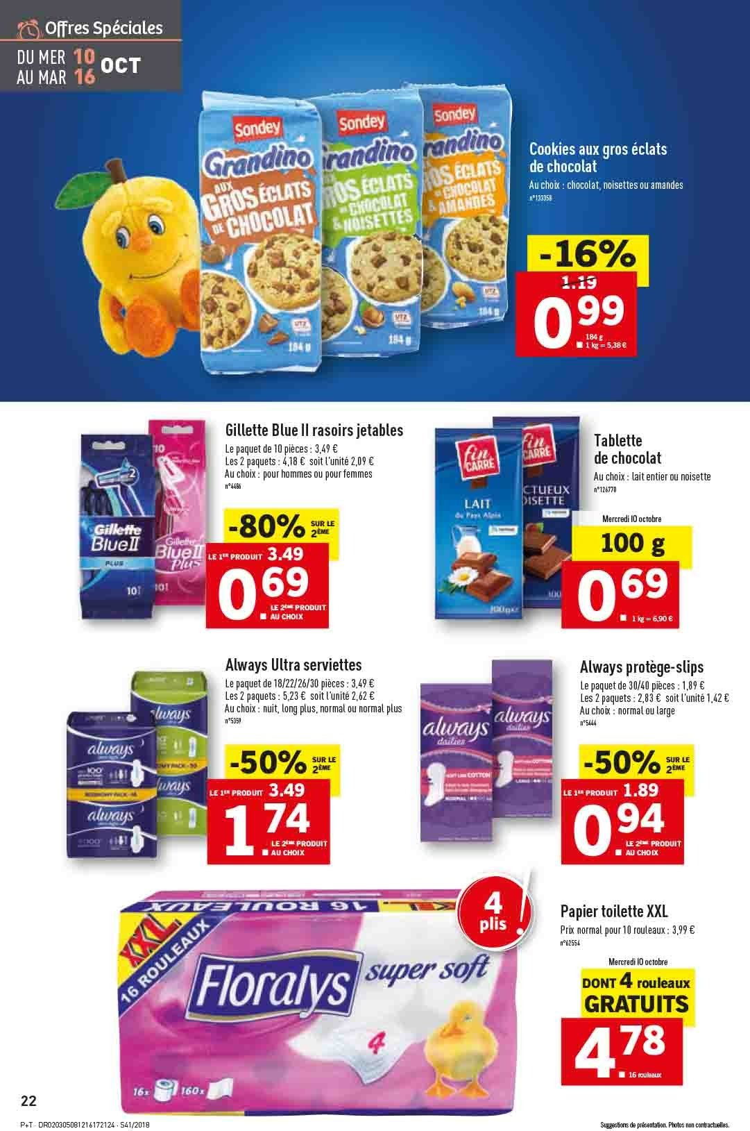 Catalogue Lidl - 10.10.2018 - 16.10.2018. Page 22.