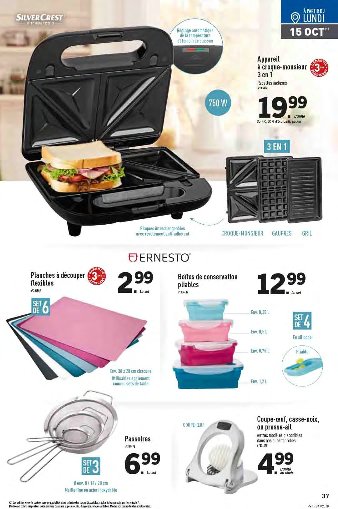 Catalogue Lidl - 10.10.2018 - 16.10.2018. Page 37.