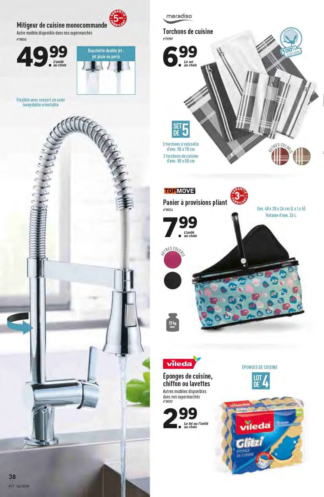 Catalogue Lidl - 10.10.2018 - 16.10.2018. Page 38.