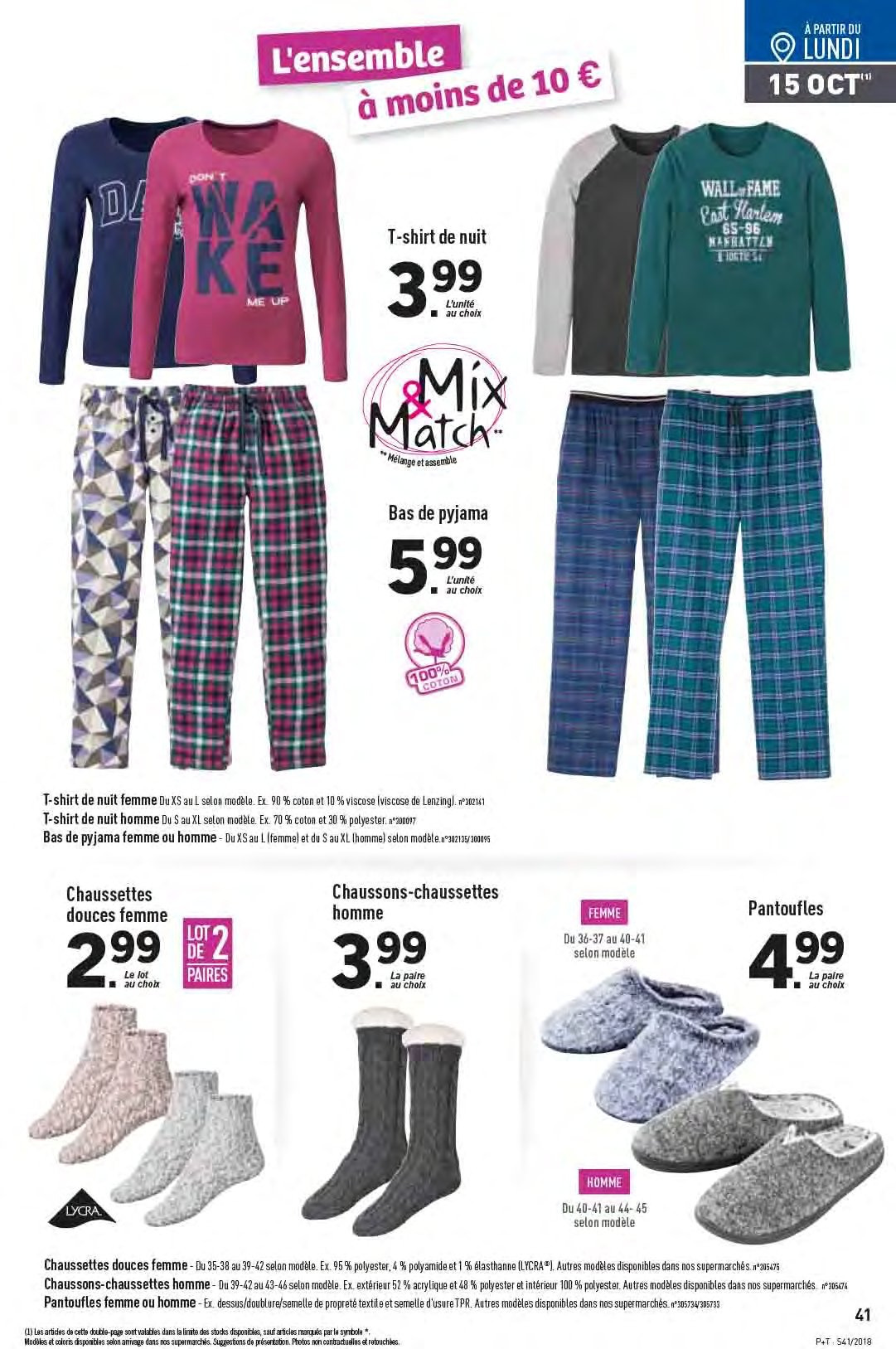 Catalogue Lidl - 10.10.2018 - 16.10.2018. Page 41.