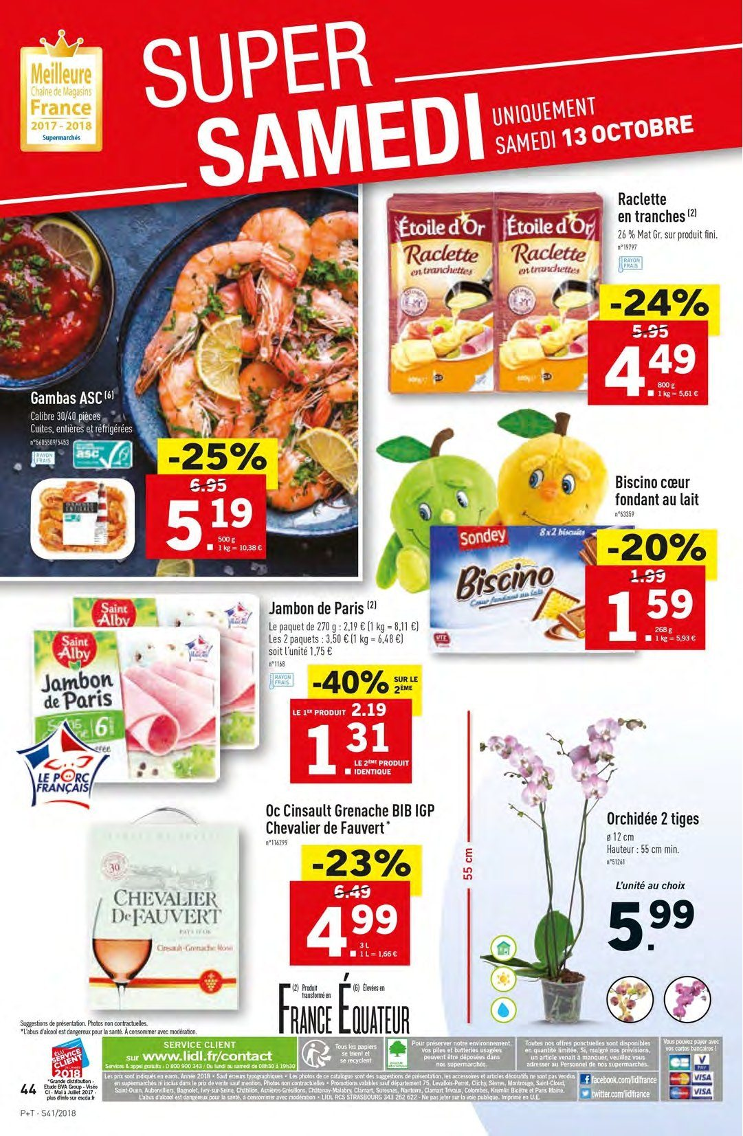 Catalogue Lidl - 10.10.2018 - 16.10.2018. Page 44.
