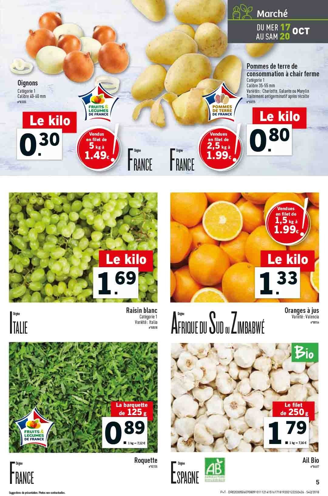 Catalogue Lidl - 17.10.2018 - 23.10.2018. Page 5.