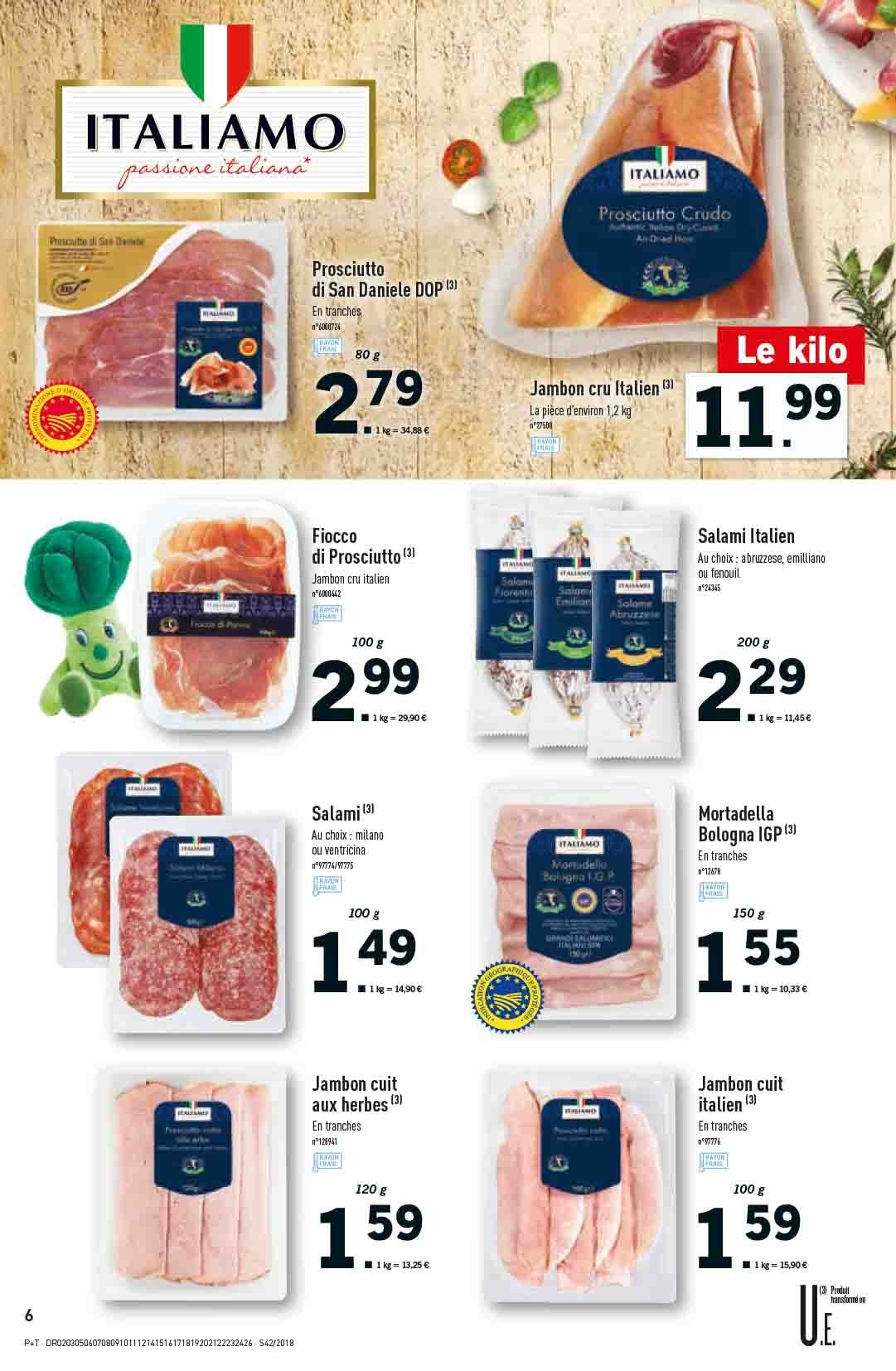Catalogue Lidl - 17.10.2018 - 23.10.2018. Page 6.