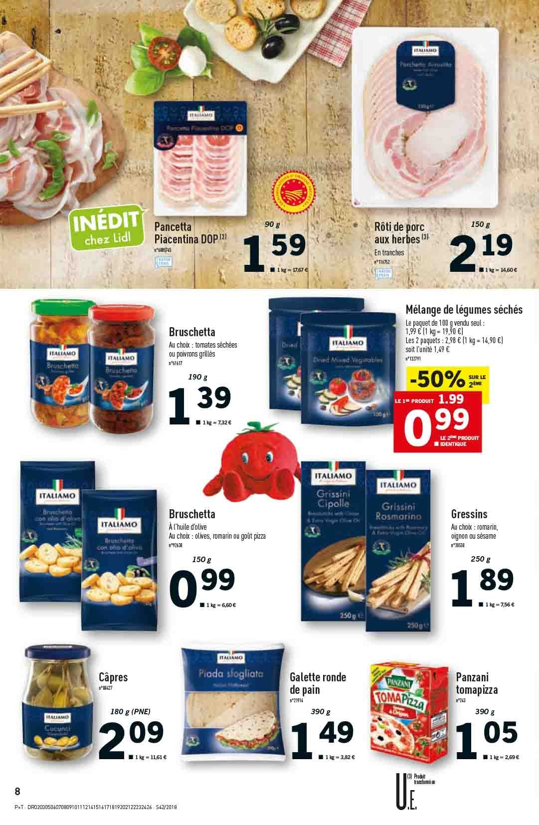 Catalogue Lidl - 17.10.2018 - 23.10.2018. Page 8.