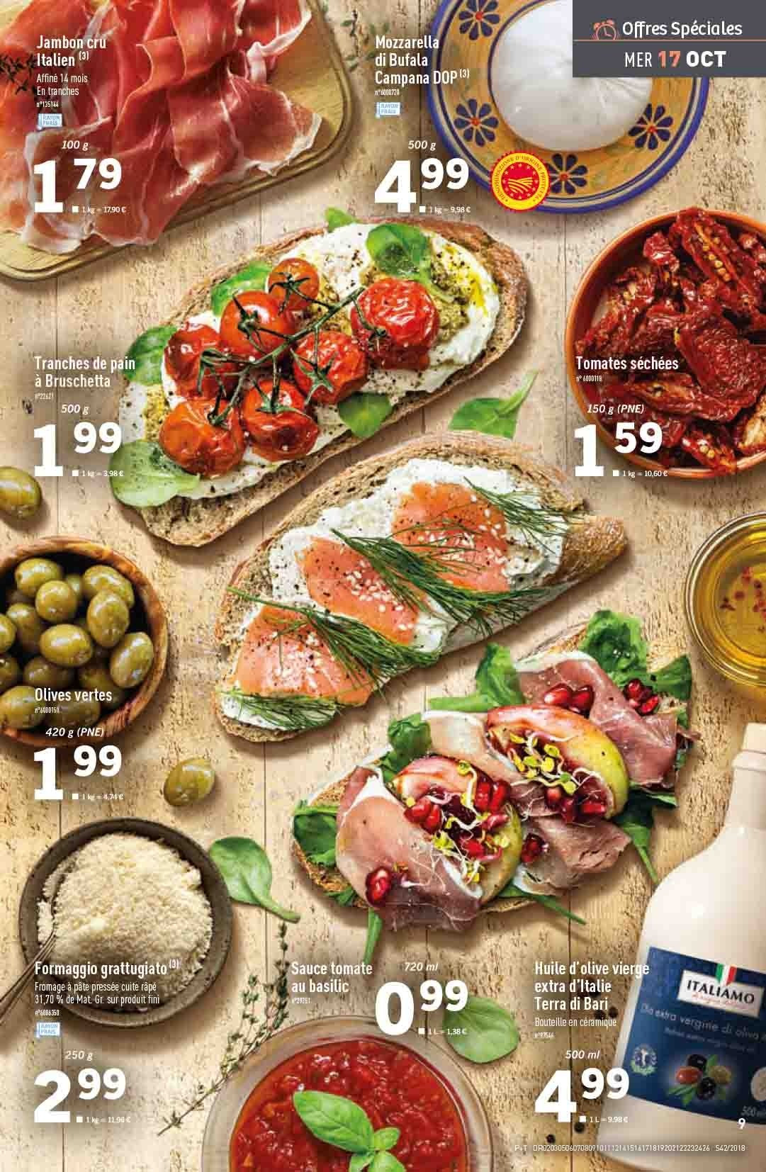 Catalogue Lidl - 17.10.2018 - 23.10.2018. Page 9.