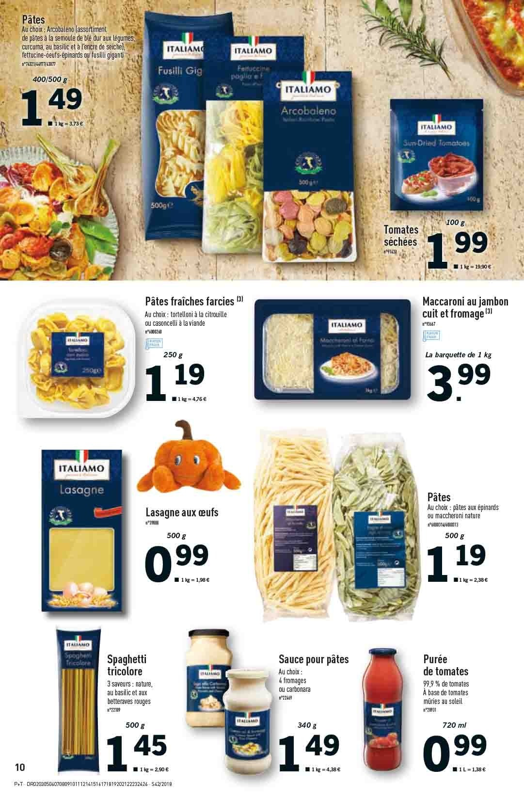 Catalogue Lidl - 17.10.2018 - 23.10.2018. Page 10.