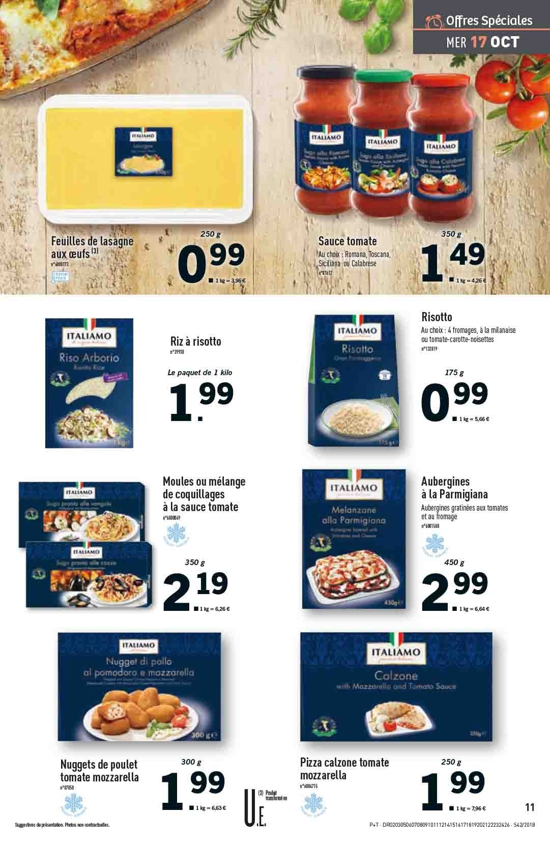 Catalogue Lidl - 17.10.2018 - 23.10.2018. Page 11.