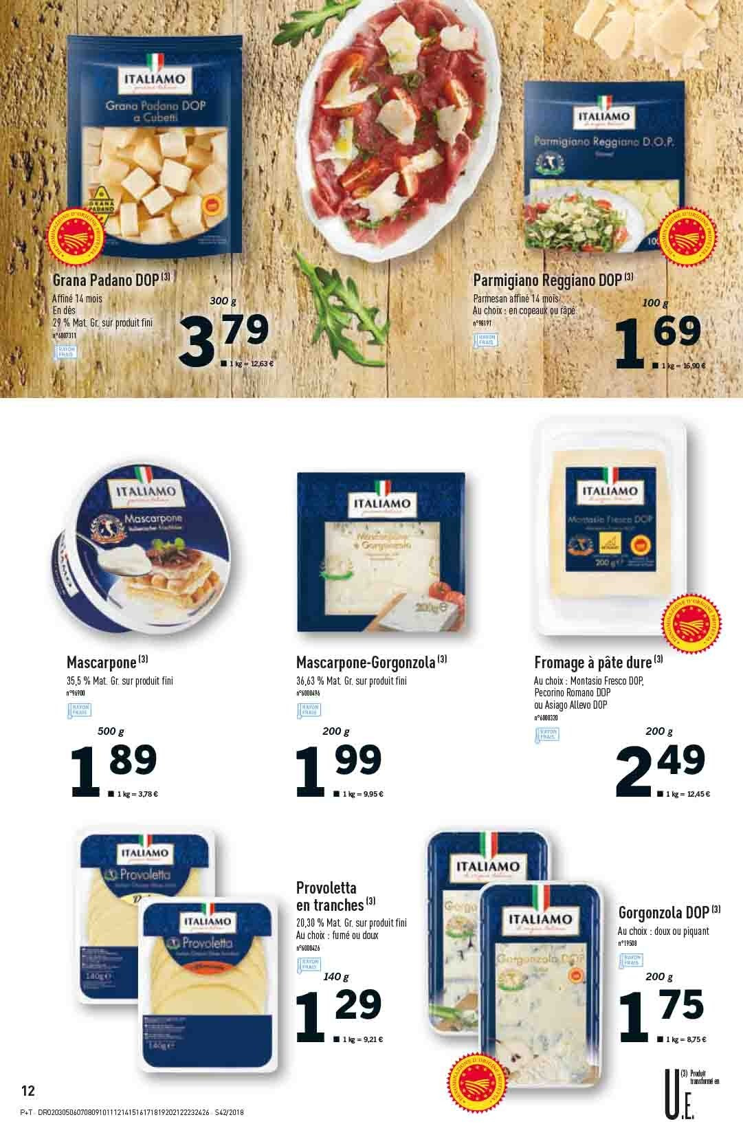 Catalogue Lidl - 17.10.2018 - 23.10.2018. Page 12.