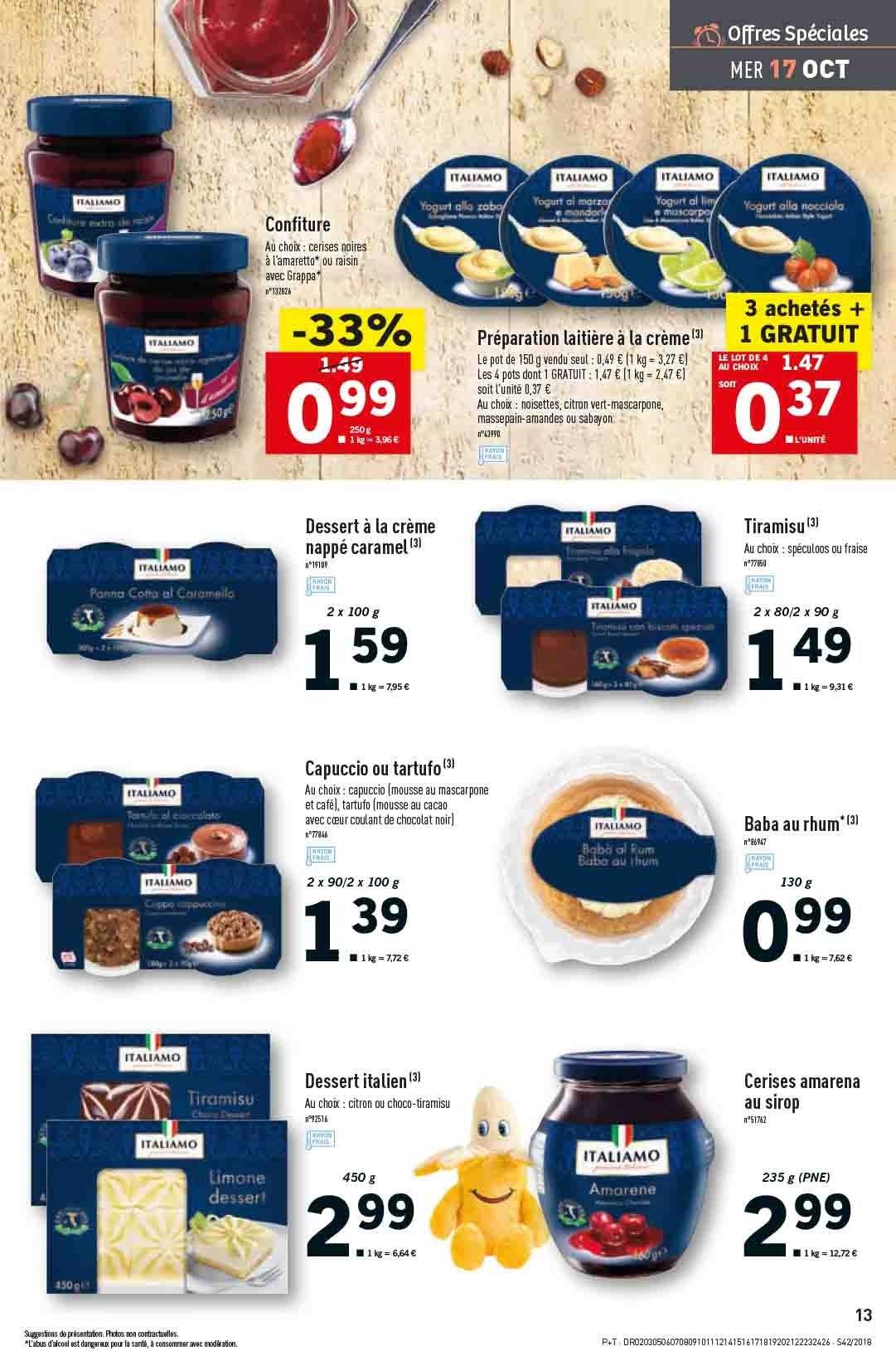 Catalogue Lidl - 17.10.2018 - 23.10.2018. Page 13.