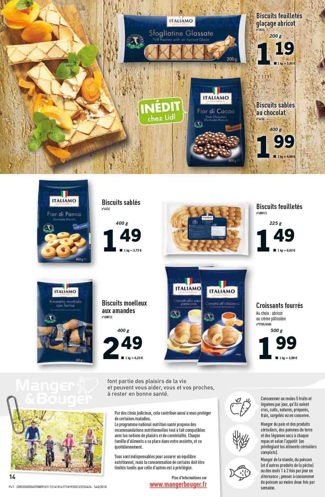 Catalogue Lidl - 17.10.2018 - 23.10.2018. Page 14.
