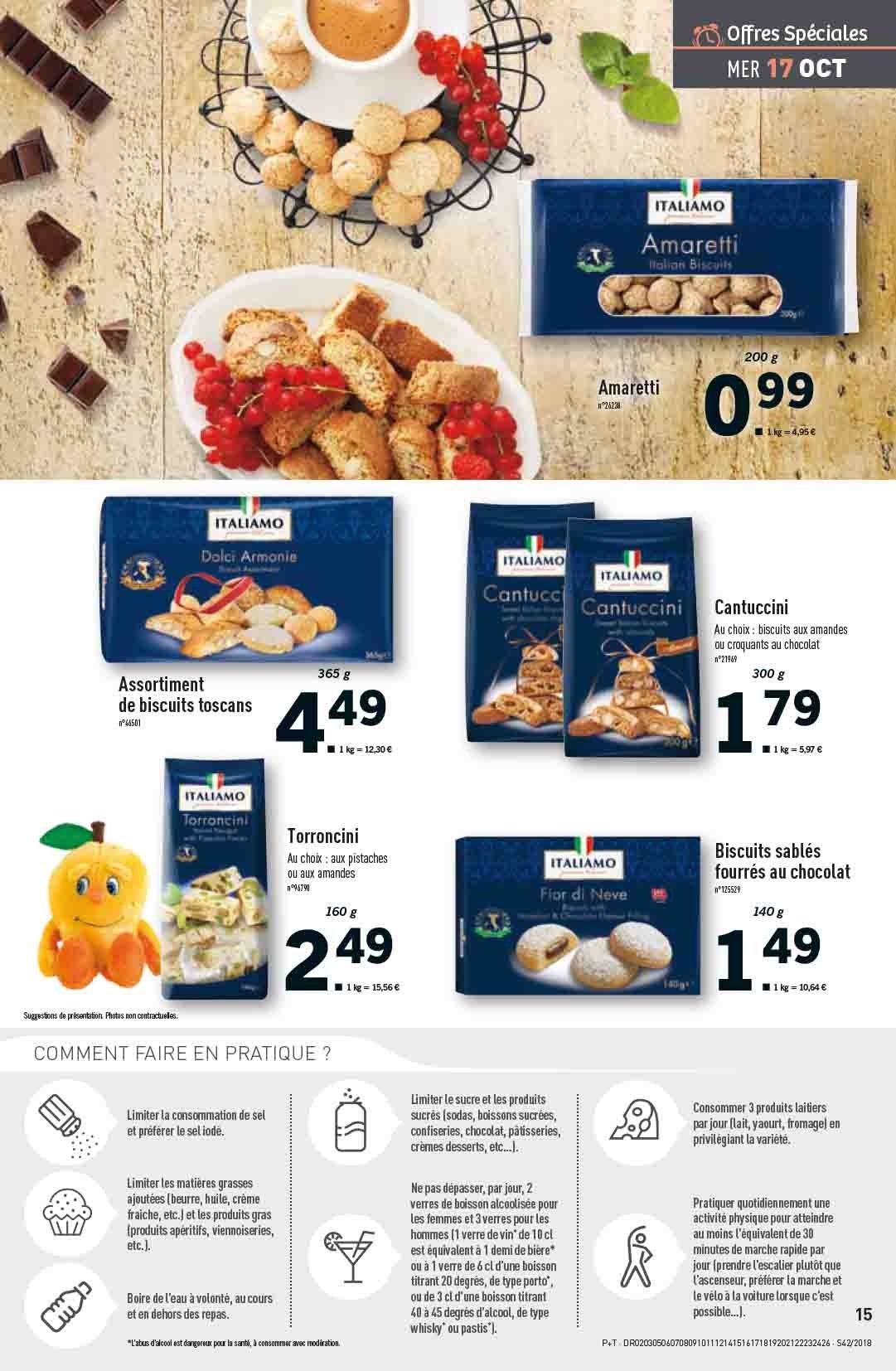 Catalogue Lidl - 17.10.2018 - 23.10.2018. Page 15.