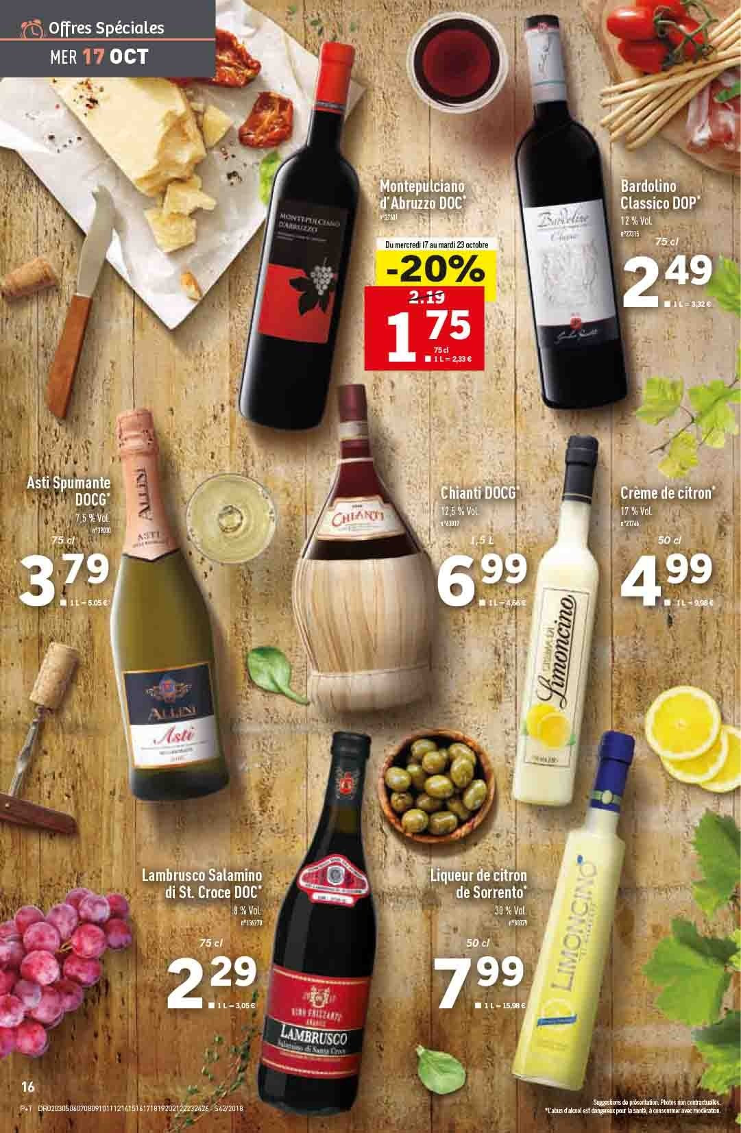 Catalogue Lidl - 17.10.2018 - 23.10.2018. Page 16.
