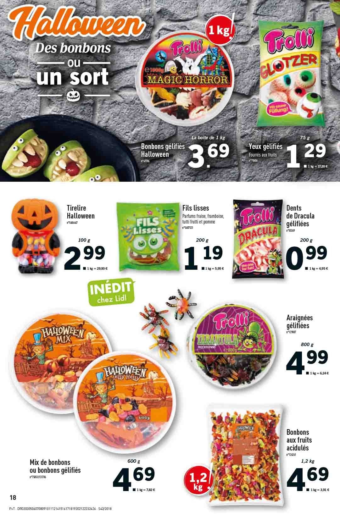 Catalogue Lidl - 17.10.2018 - 23.10.2018. Page 18.