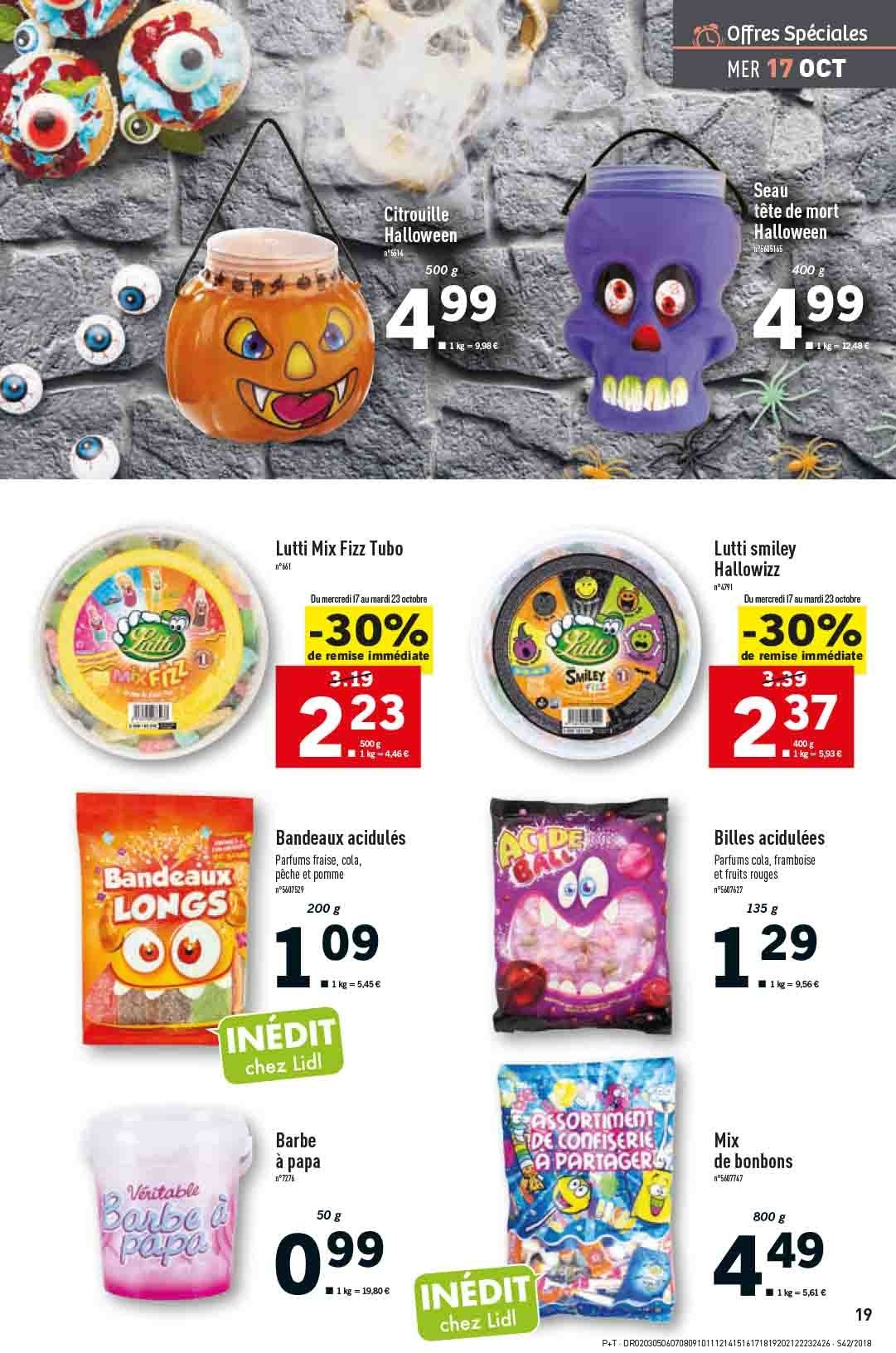 Catalogue Lidl - 17.10.2018 - 23.10.2018. Page 19.