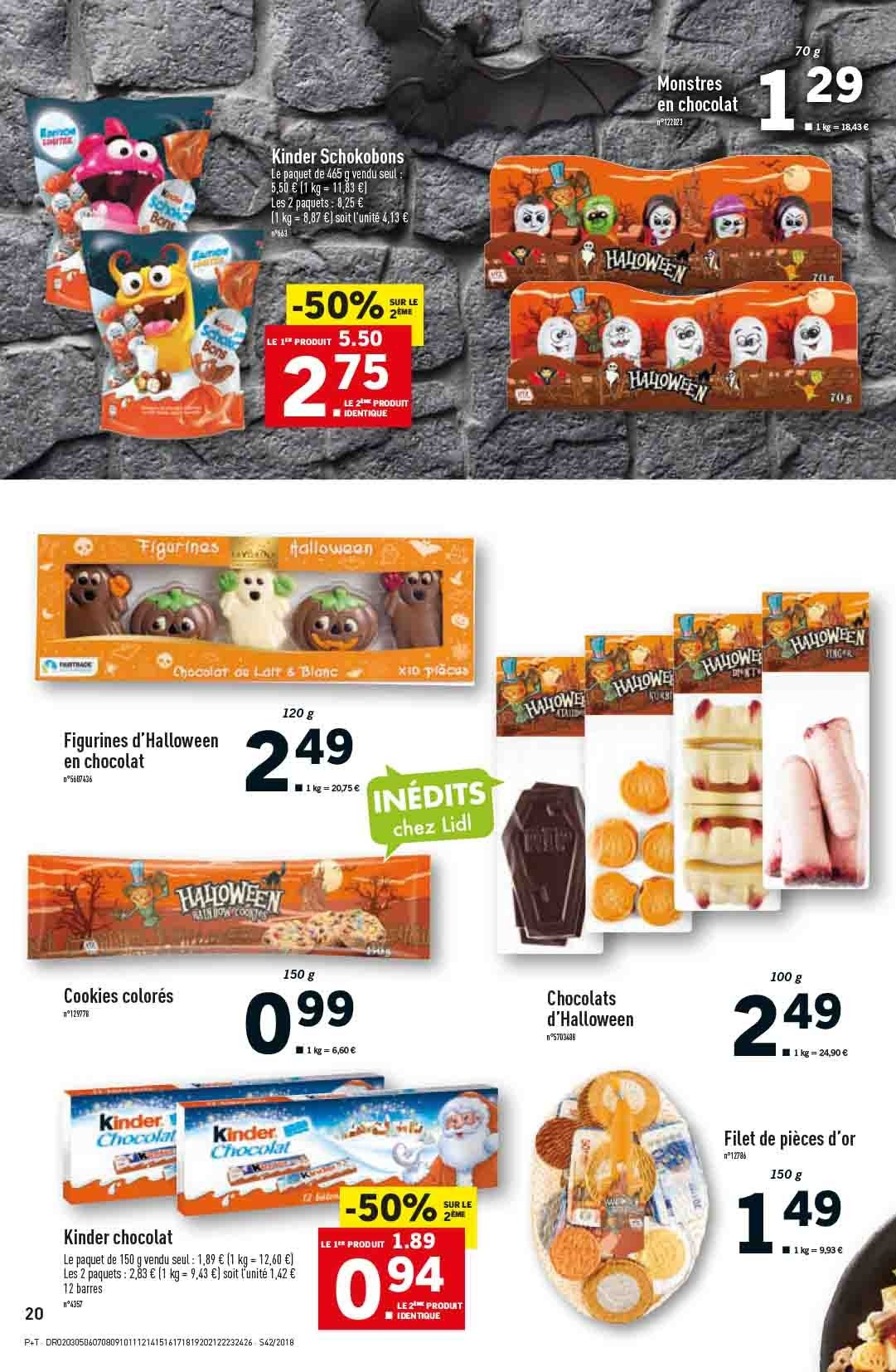 Catalogue Lidl - 17.10.2018 - 23.10.2018. Page 20.