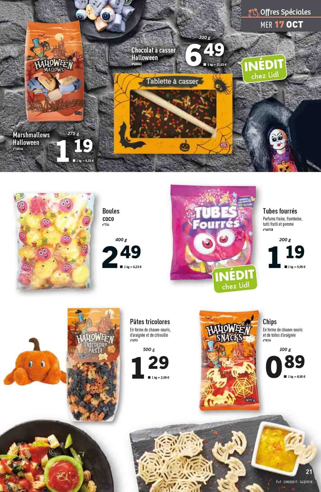 Catalogue Lidl - 17.10.2018 - 23.10.2018. Page 21.