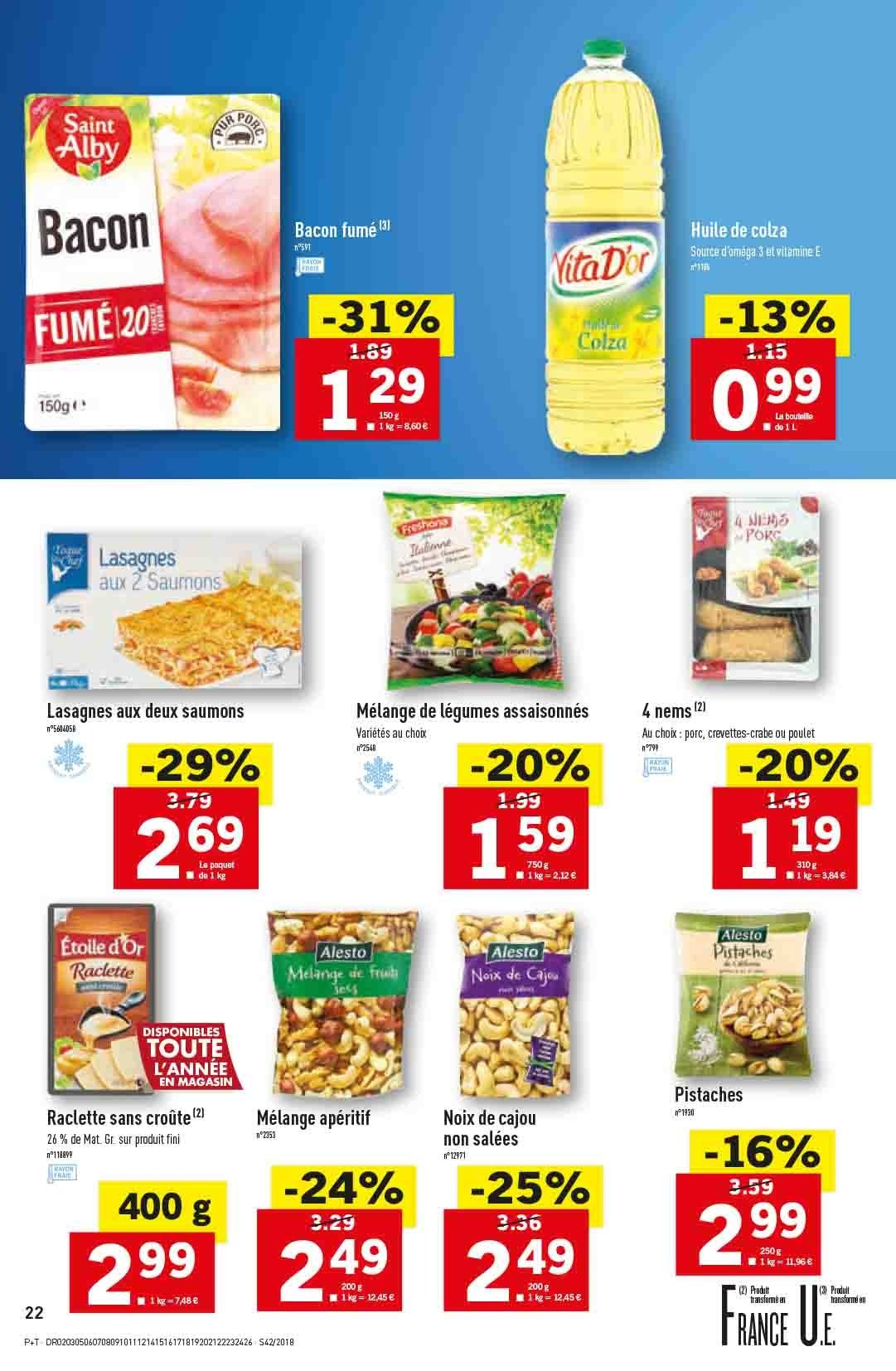 Catalogue Lidl - 17.10.2018 - 23.10.2018. Page 22.