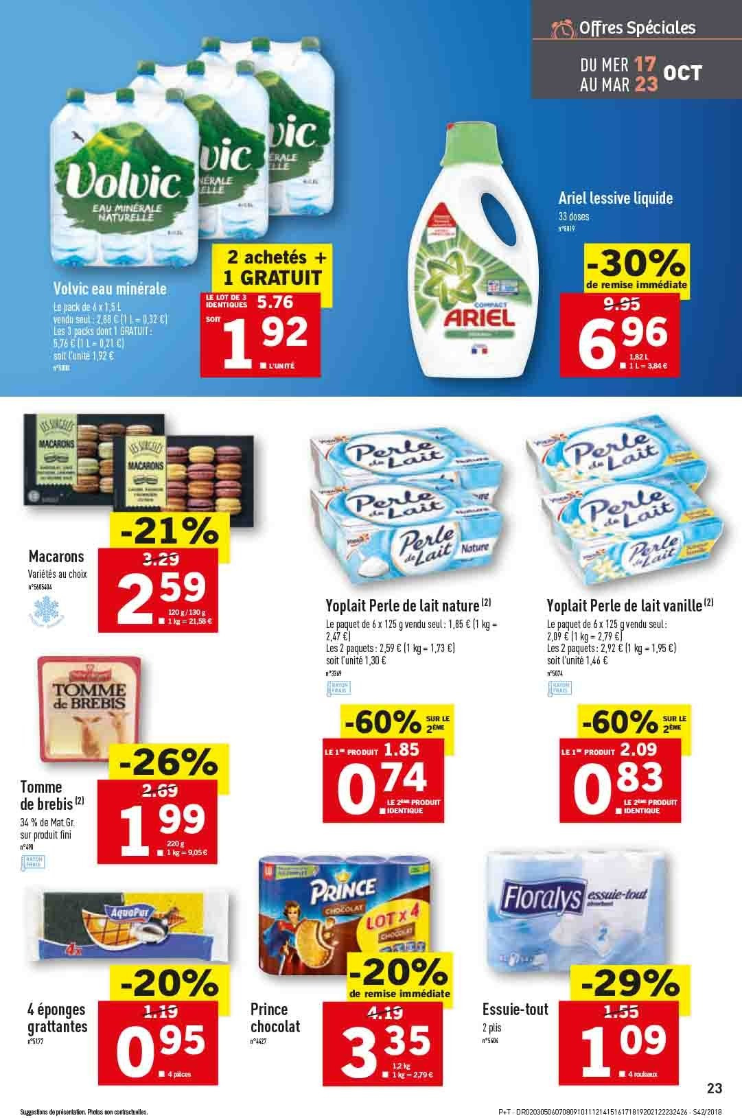 Catalogue Lidl - 17.10.2018 - 23.10.2018. Page 23.
