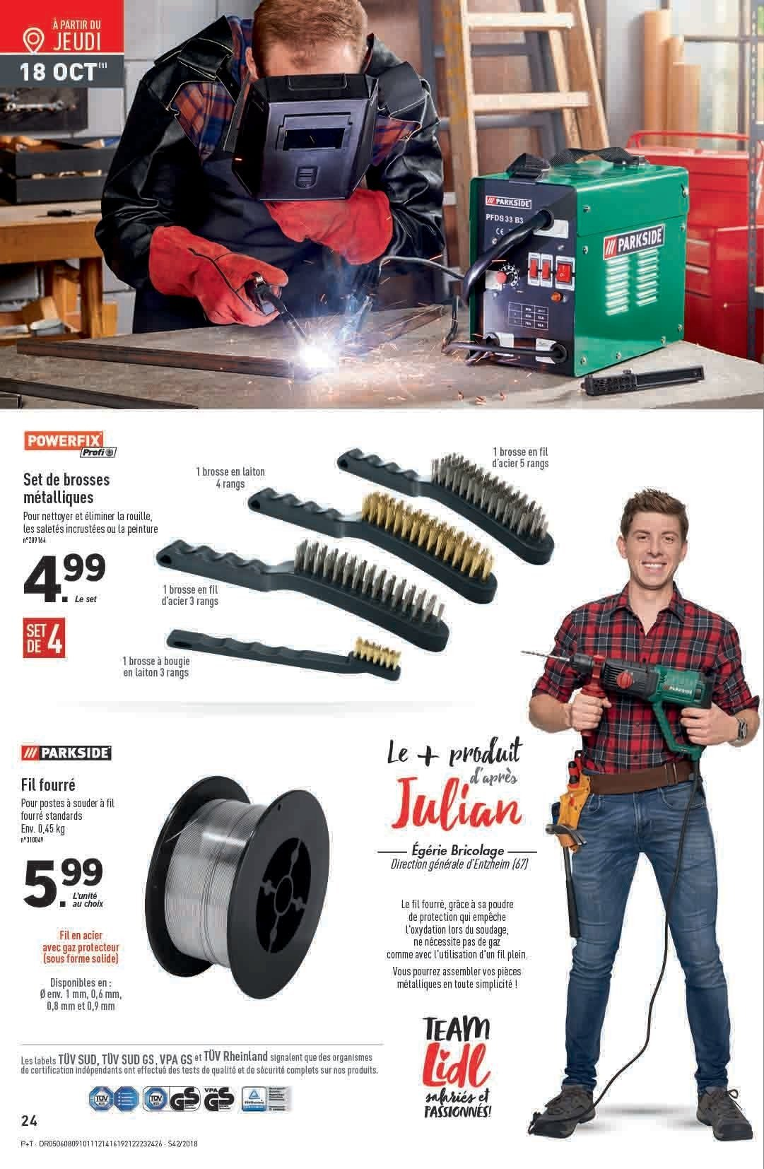 Catalogue Lidl - 17.10.2018 - 23.10.2018. Page 24.