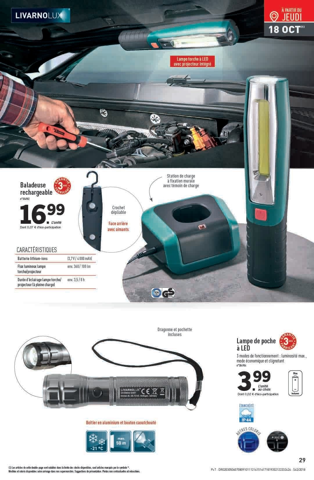 Catalogue Lidl - 17.10.2018 - 23.10.2018. Page 29.