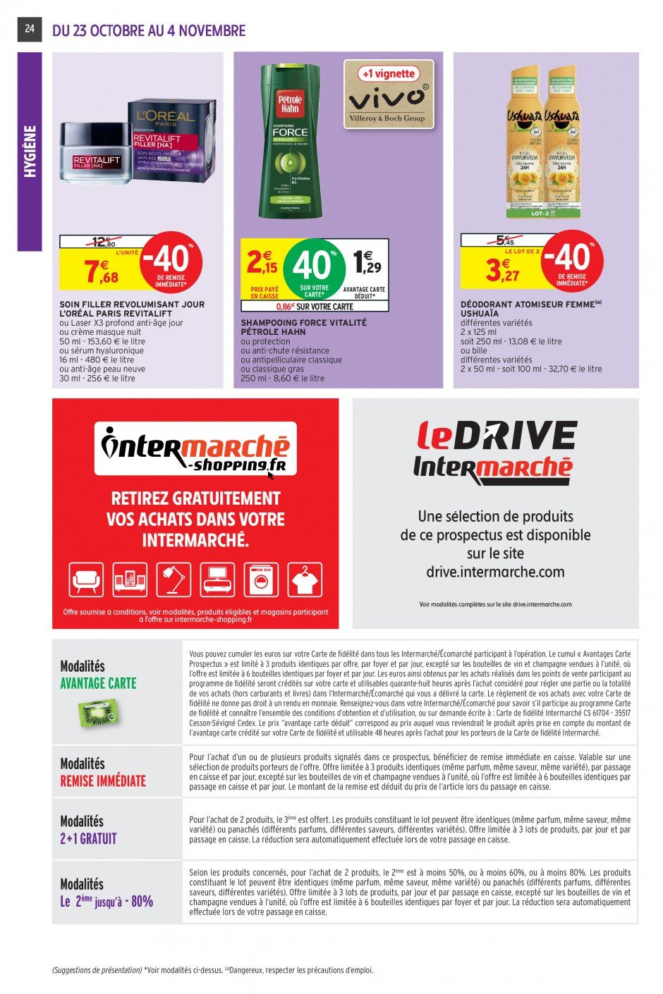 Catalogue Intermarché - 23.10.2018 - 04.11.2018. Page 23.