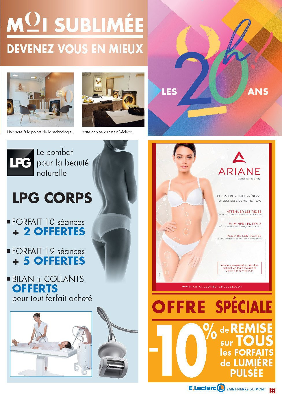 Catalogue E.Leclerc - 22.10.2018 - 03.11.2018. Page 35.