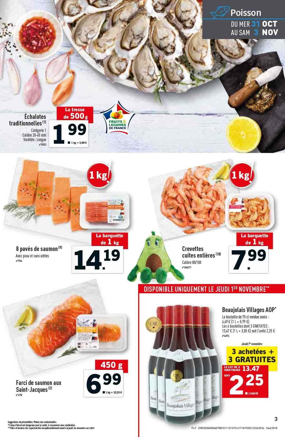 Catalogue Lidl - 31.10.2018 - 06.11.2018. Page 3.