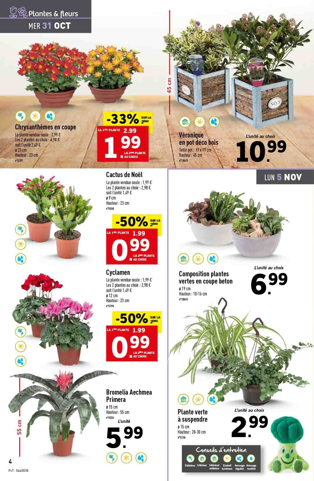 Catalogue Lidl - 31.10.2018 - 06.11.2018. Page 4.