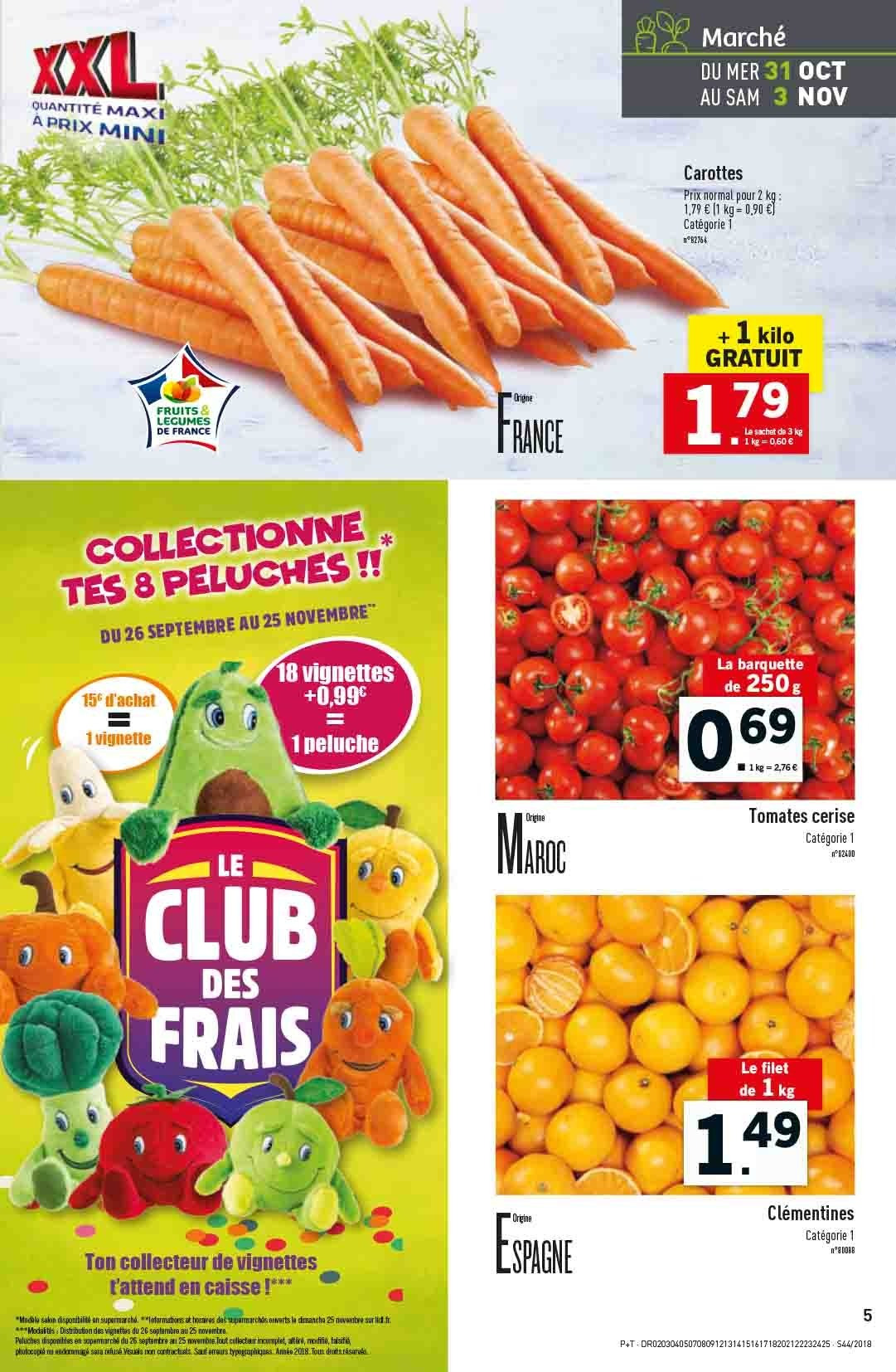 Catalogue Lidl - 31.10.2018 - 06.11.2018. Page 5.