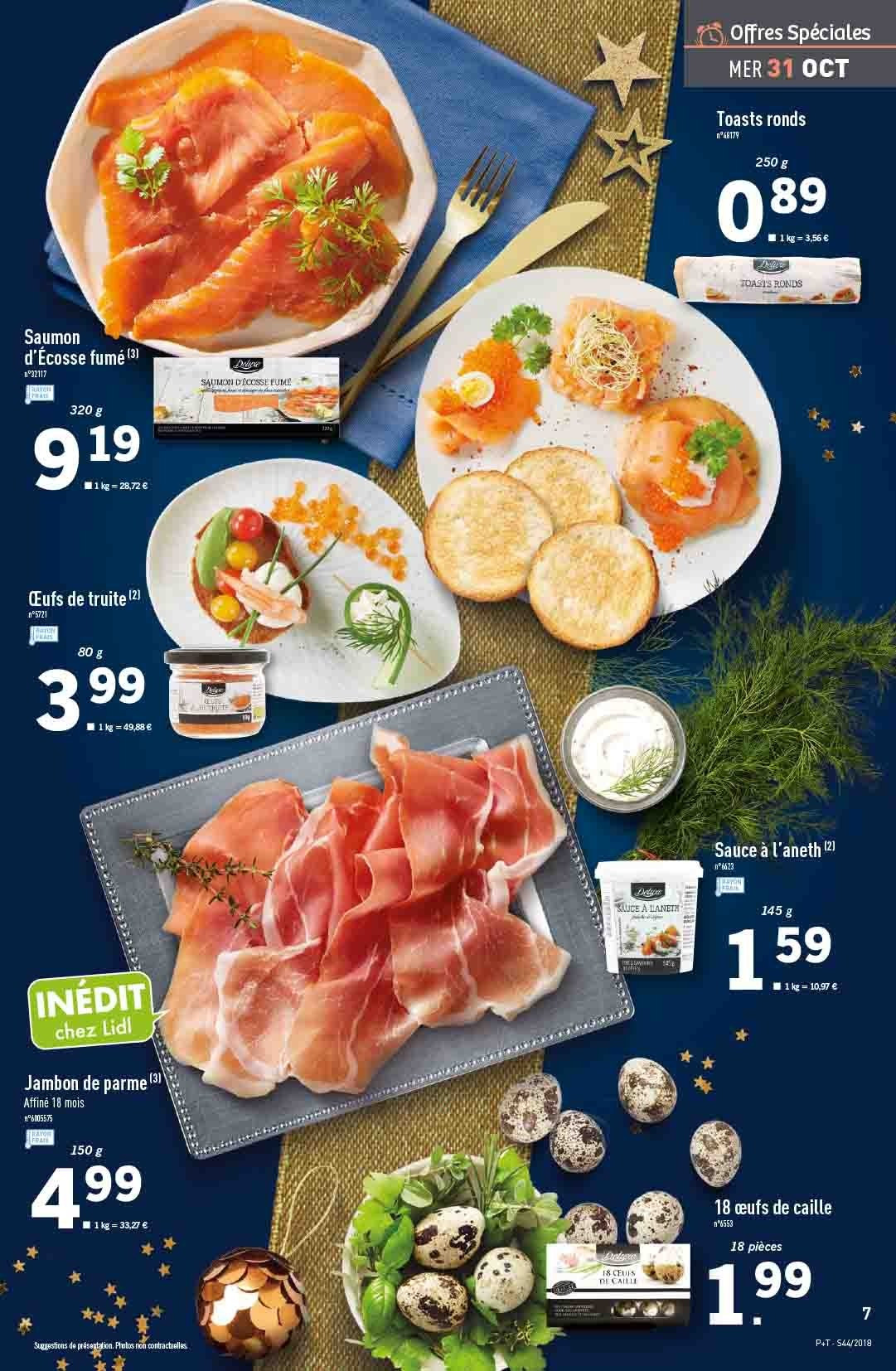 Catalogue Lidl - 31.10.2018 - 06.11.2018. Page 7.