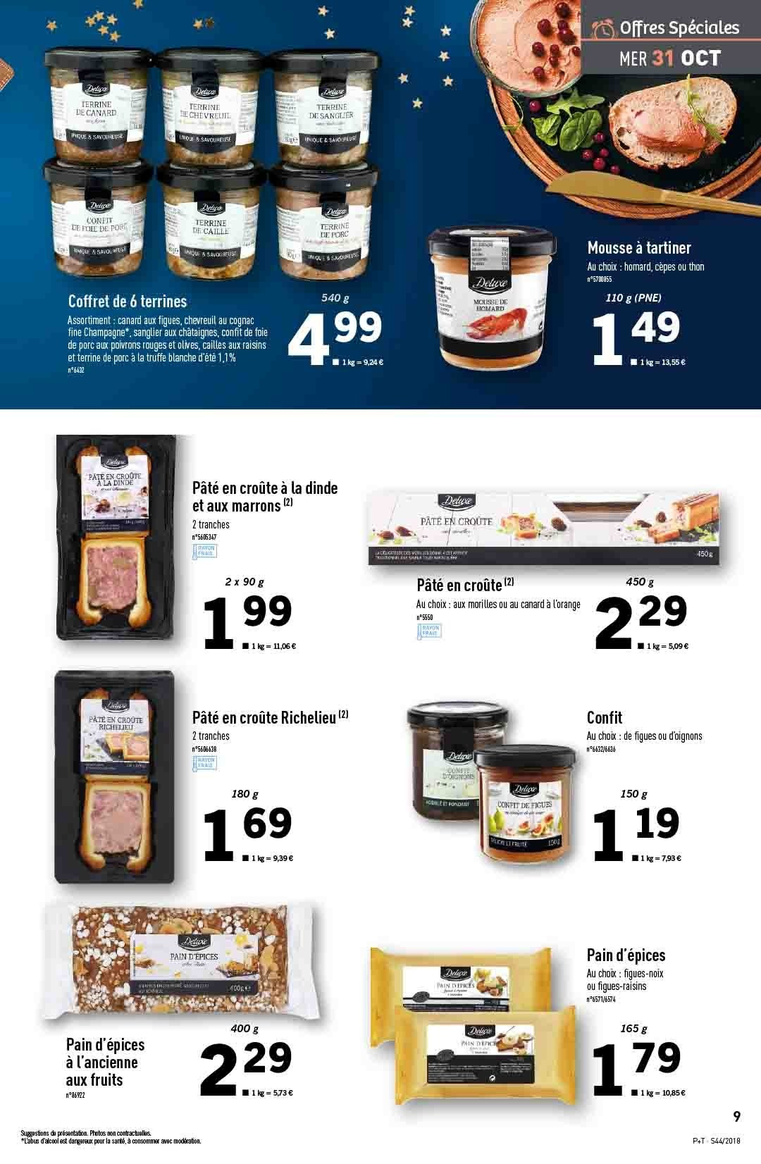 Catalogue Lidl - 31.10.2018 - 06.11.2018. Page 9.