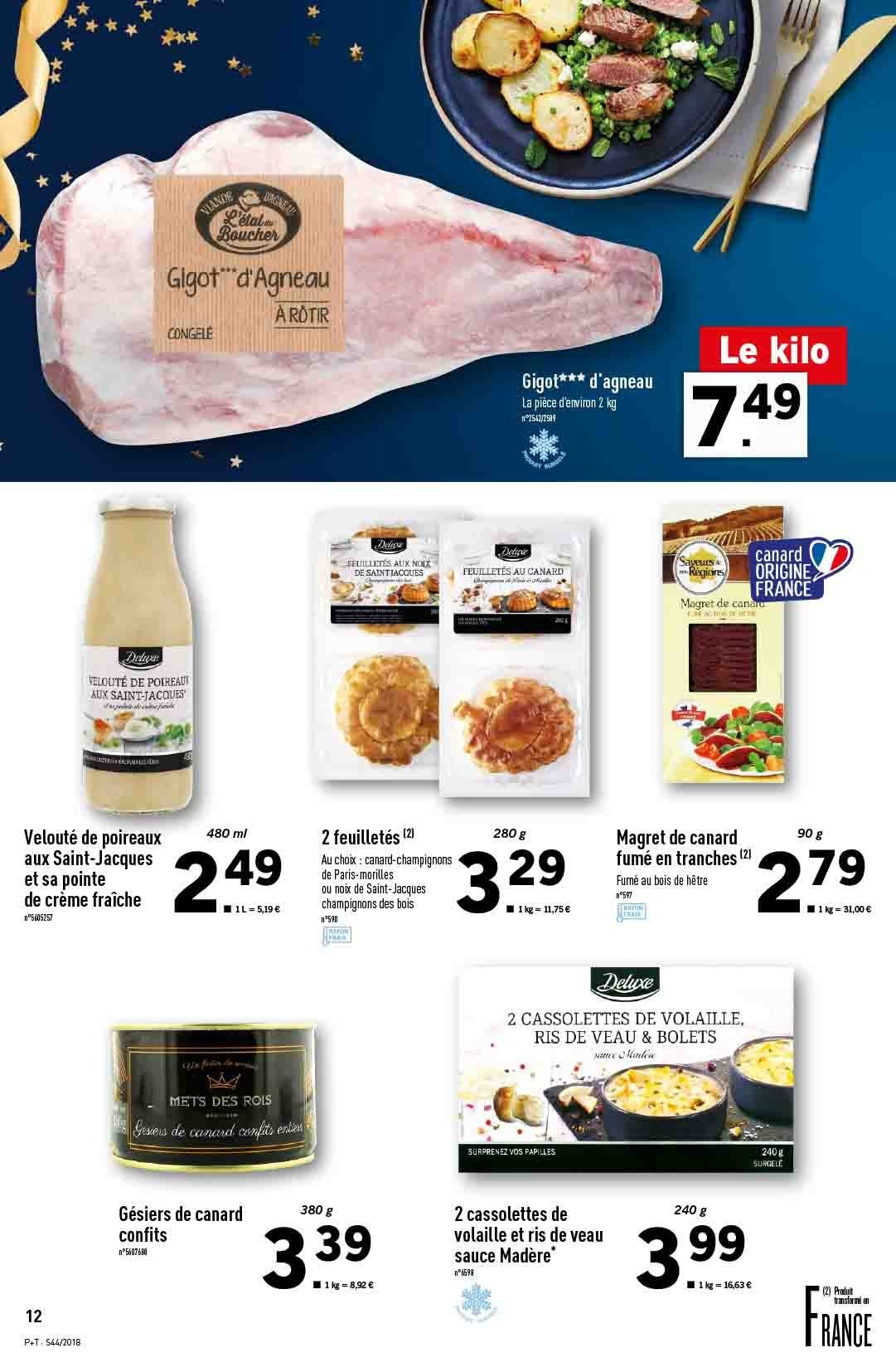 Catalogue Lidl - 31.10.2018 - 06.11.2018. Page 12.