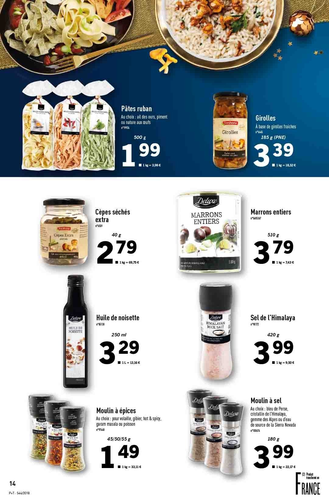 Catalogue Lidl - 31.10.2018 - 06.11.2018. Page 14.