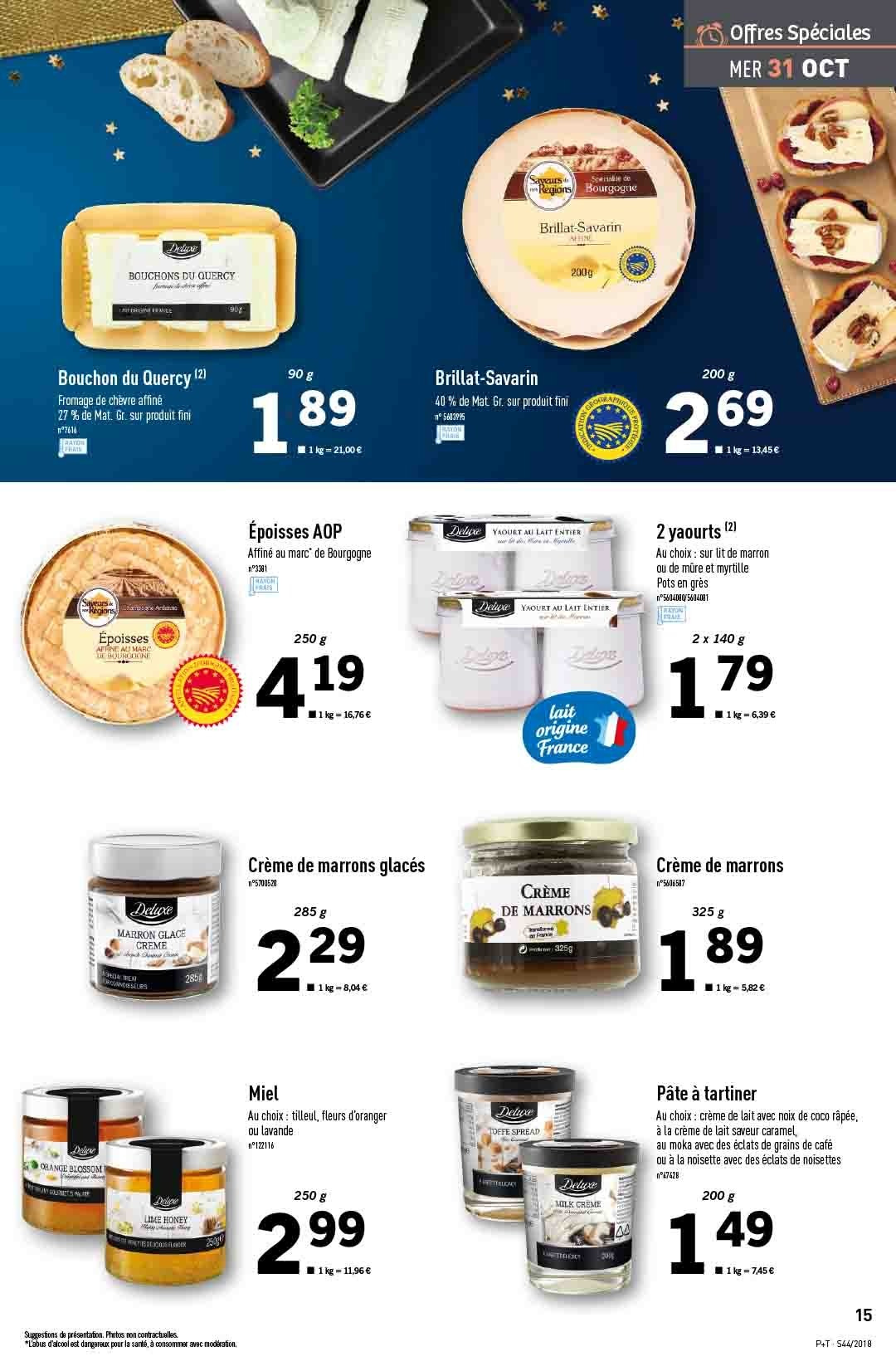 Catalogue Lidl - 31.10.2018 - 06.11.2018. Page 15.