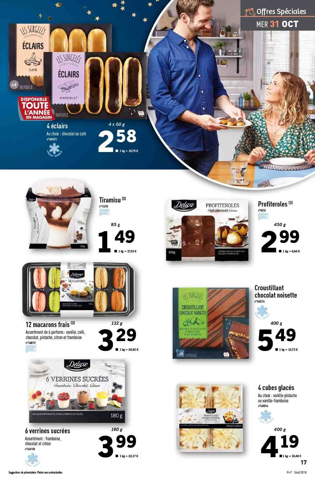 Catalogue Lidl - 31.10.2018 - 06.11.2018. Page 17.