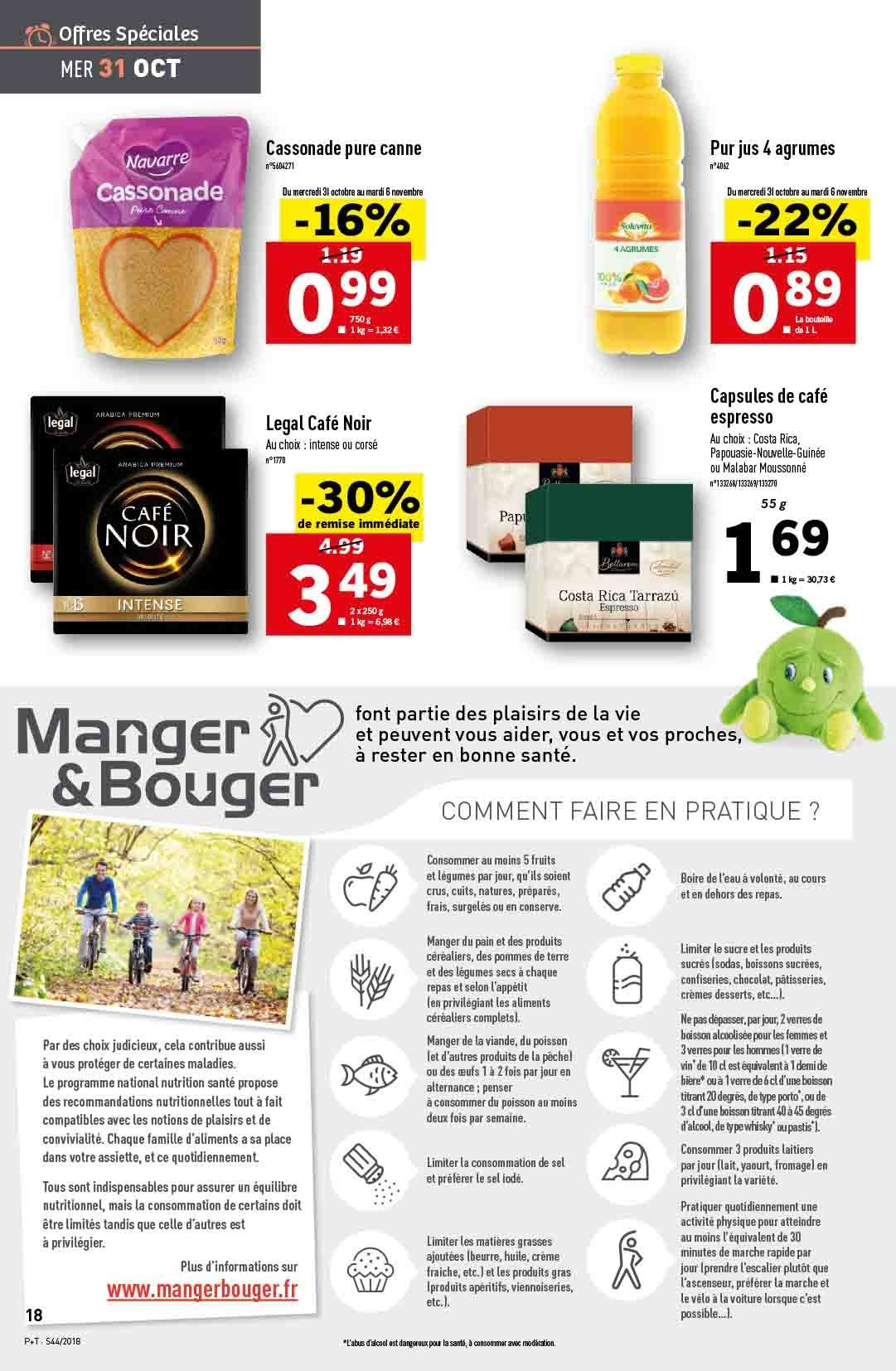 Catalogue Lidl - 31.10.2018 - 06.11.2018. Page 18.