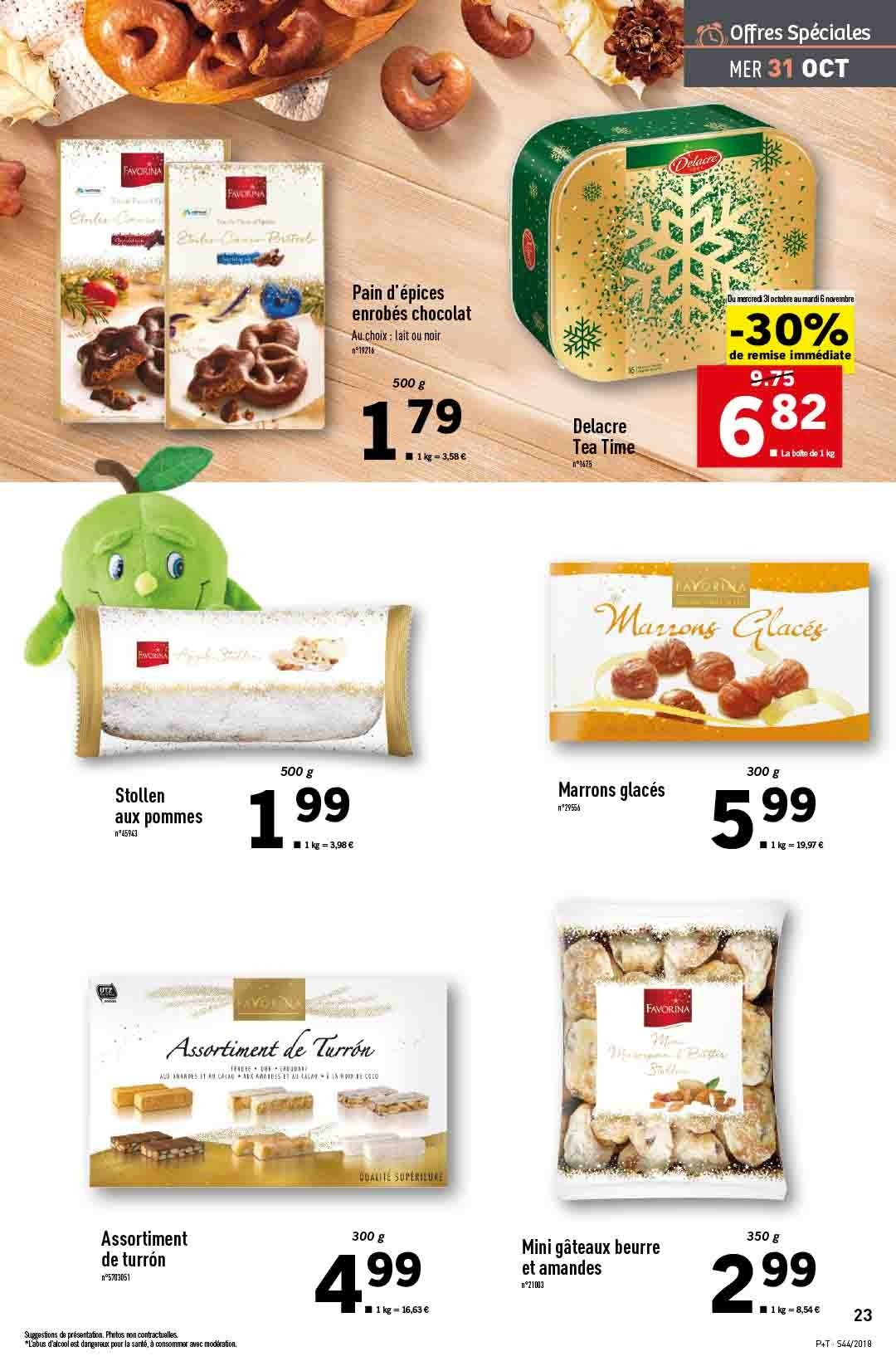 Catalogue Lidl - 31.10.2018 - 06.11.2018. Page 23.