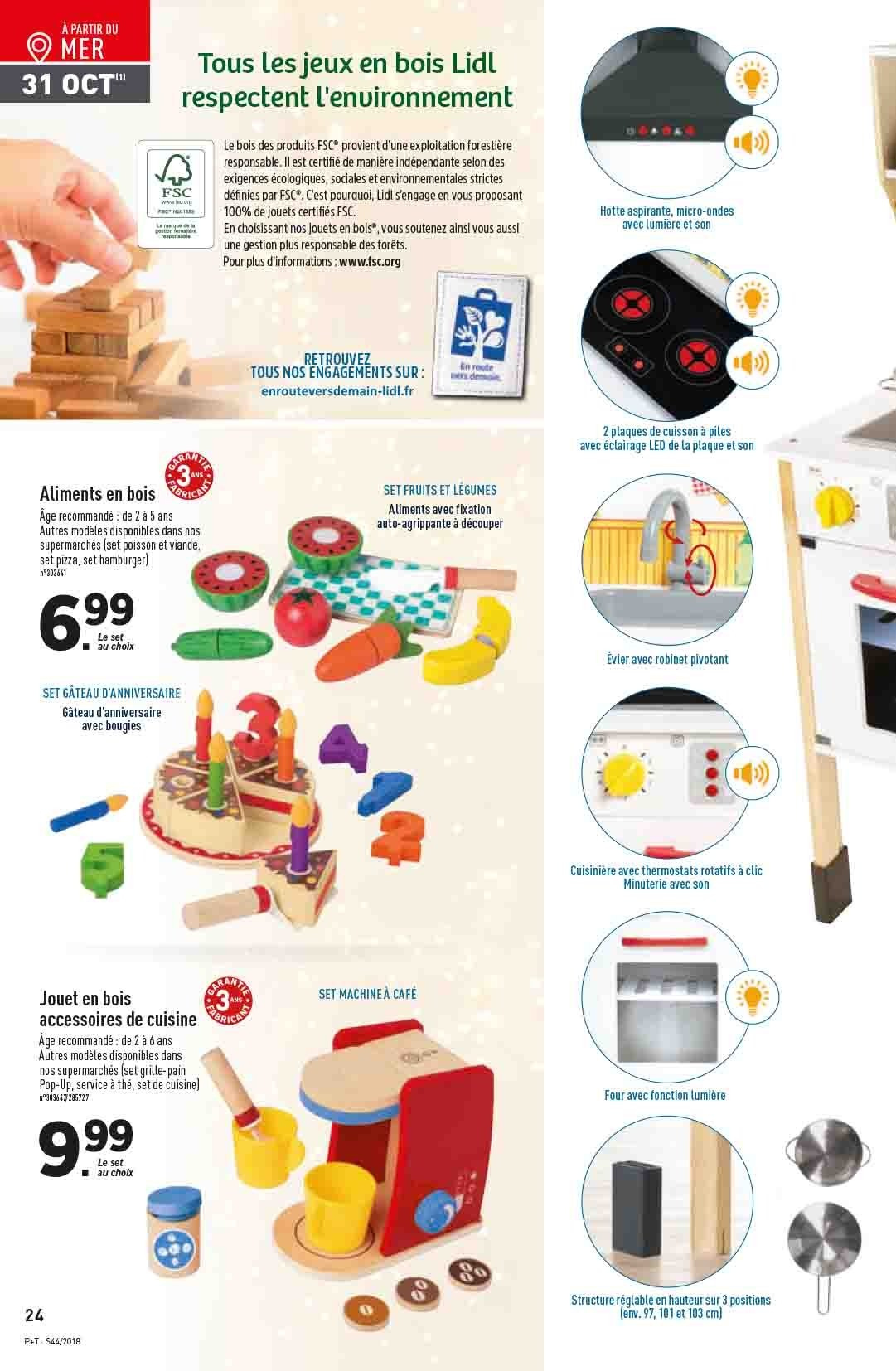 Catalogue Lidl - 31.10.2018 - 06.11.2018. Page 24.