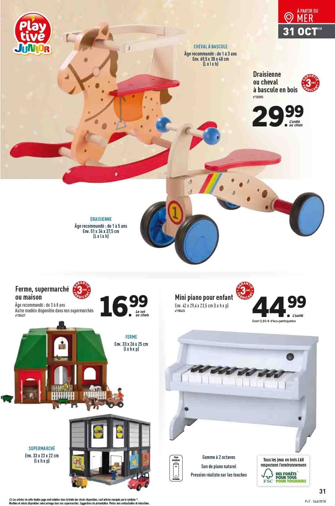Catalogue Lidl - 31.10.2018 - 06.11.2018. Page 31.