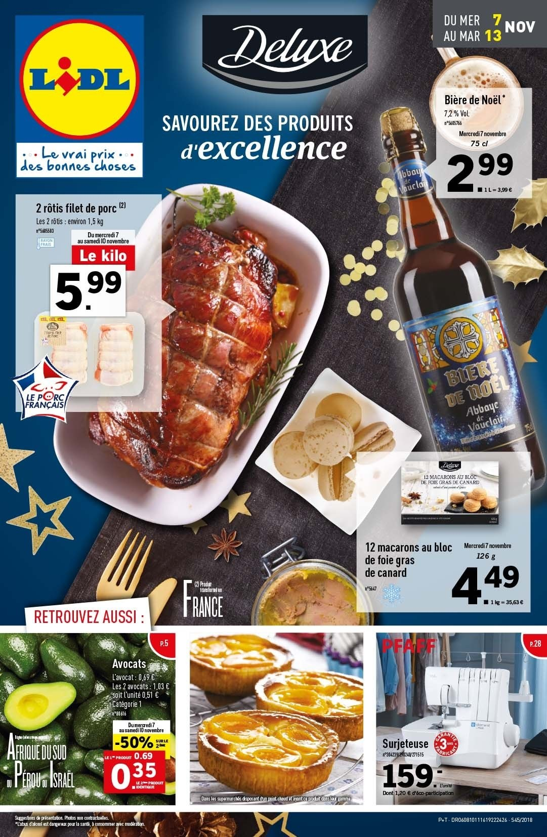 Catalogue Lidl - 07.11.2018 - 13.11.2018. Page 1.