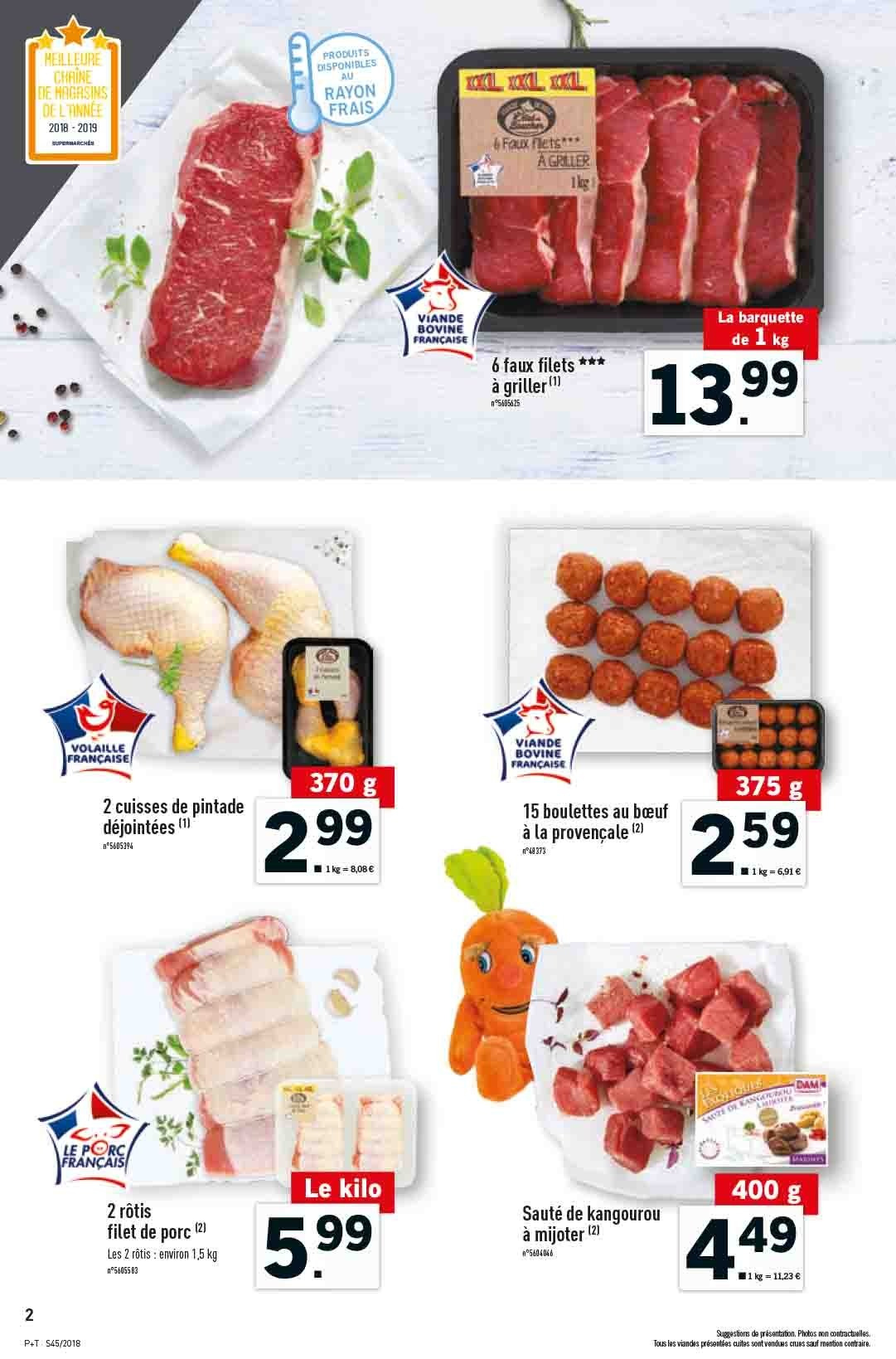 Catalogue Lidl - 07.11.2018 - 13.11.2018. Page 2.