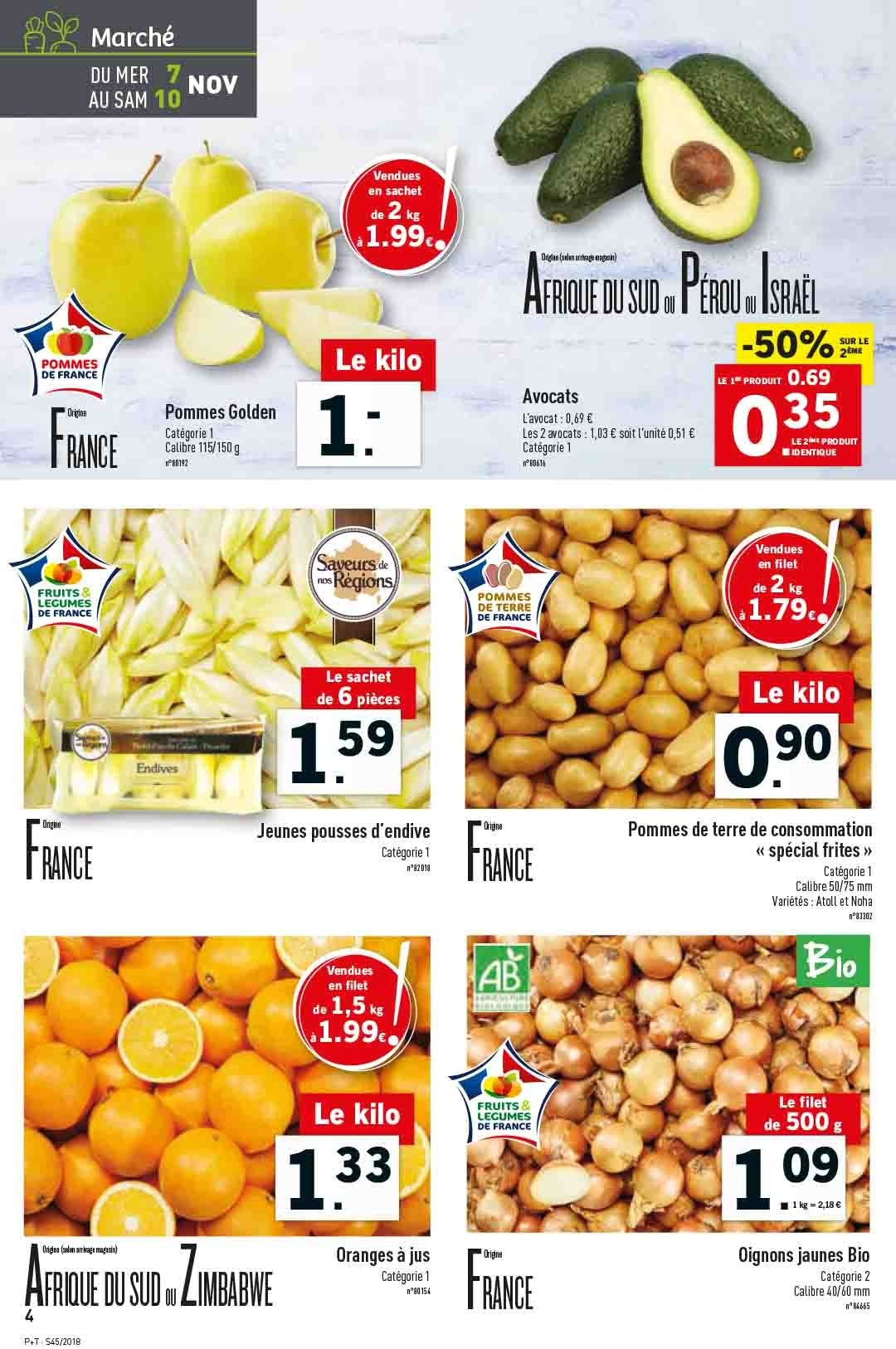 Catalogue Lidl - 07.11.2018 - 13.11.2018. Page 4.