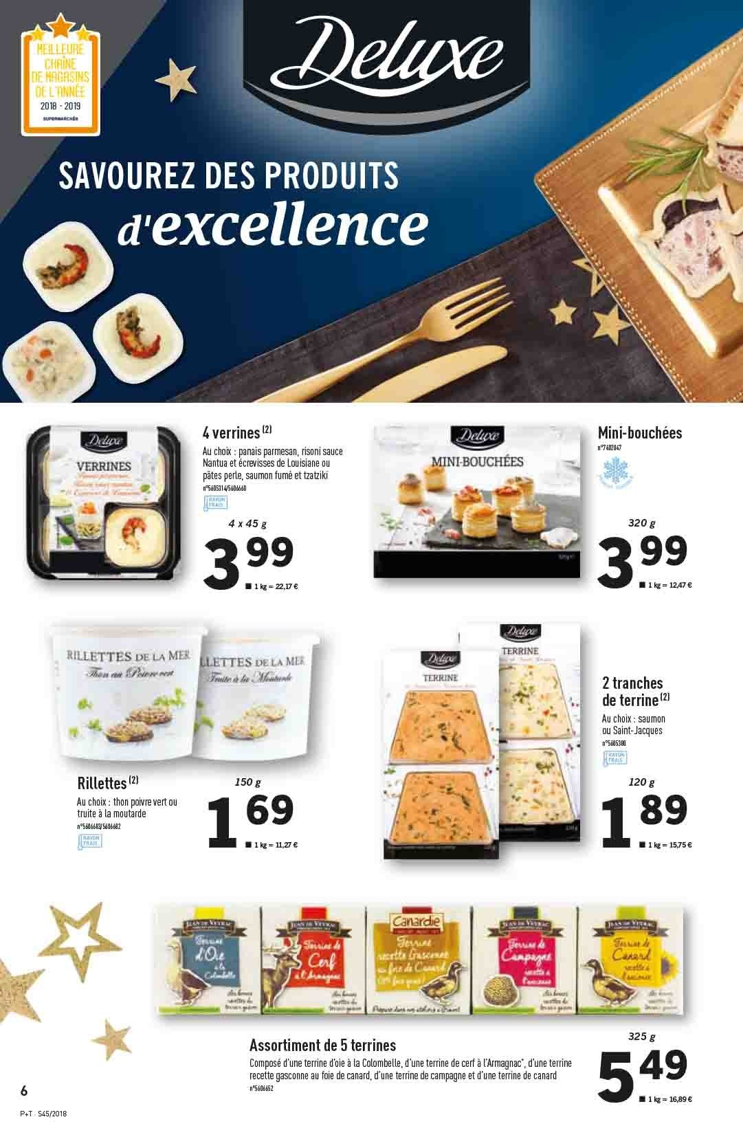 Catalogue Lidl - 07.11.2018 - 13.11.2018. Page 6.