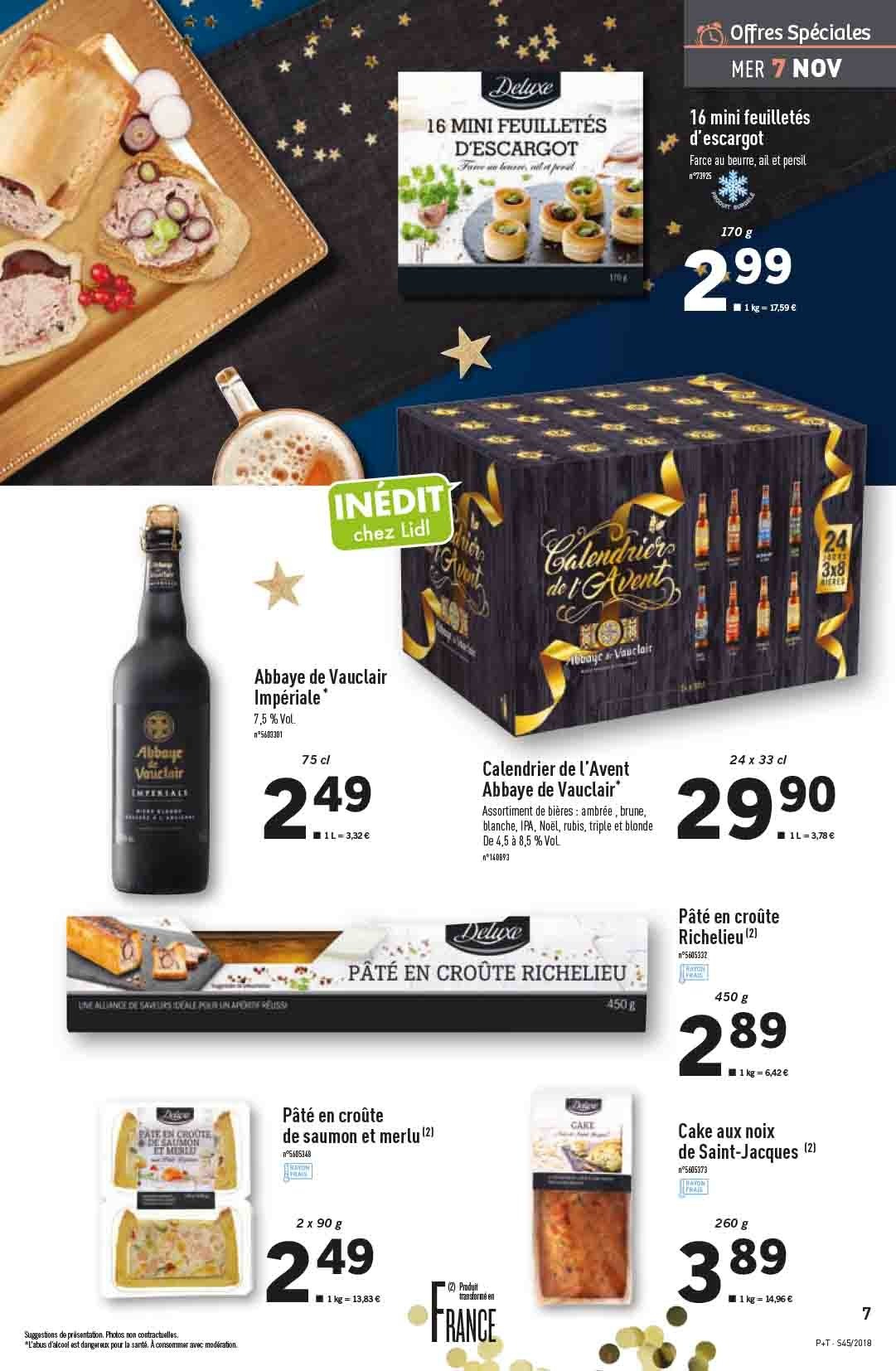 Catalogue Lidl - 07.11.2018 - 13.11.2018. Page 7.