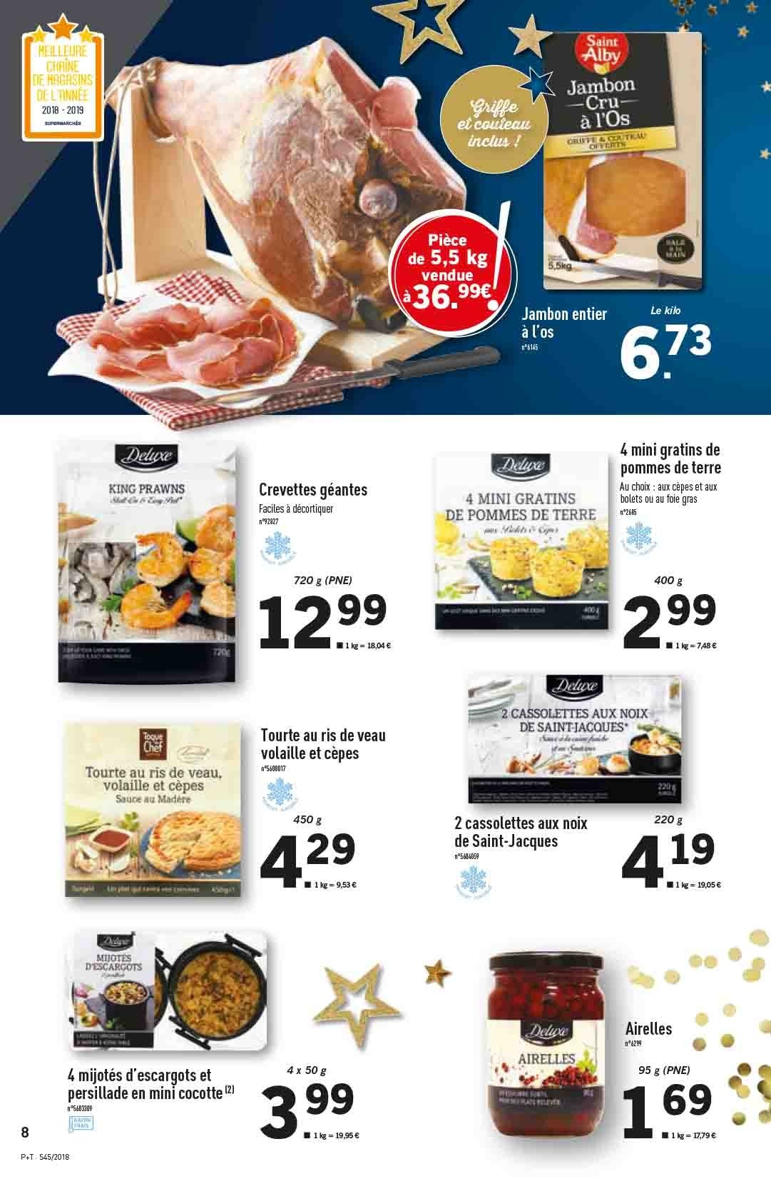 Catalogue Lidl - 07.11.2018 - 13.11.2018. Page 8.