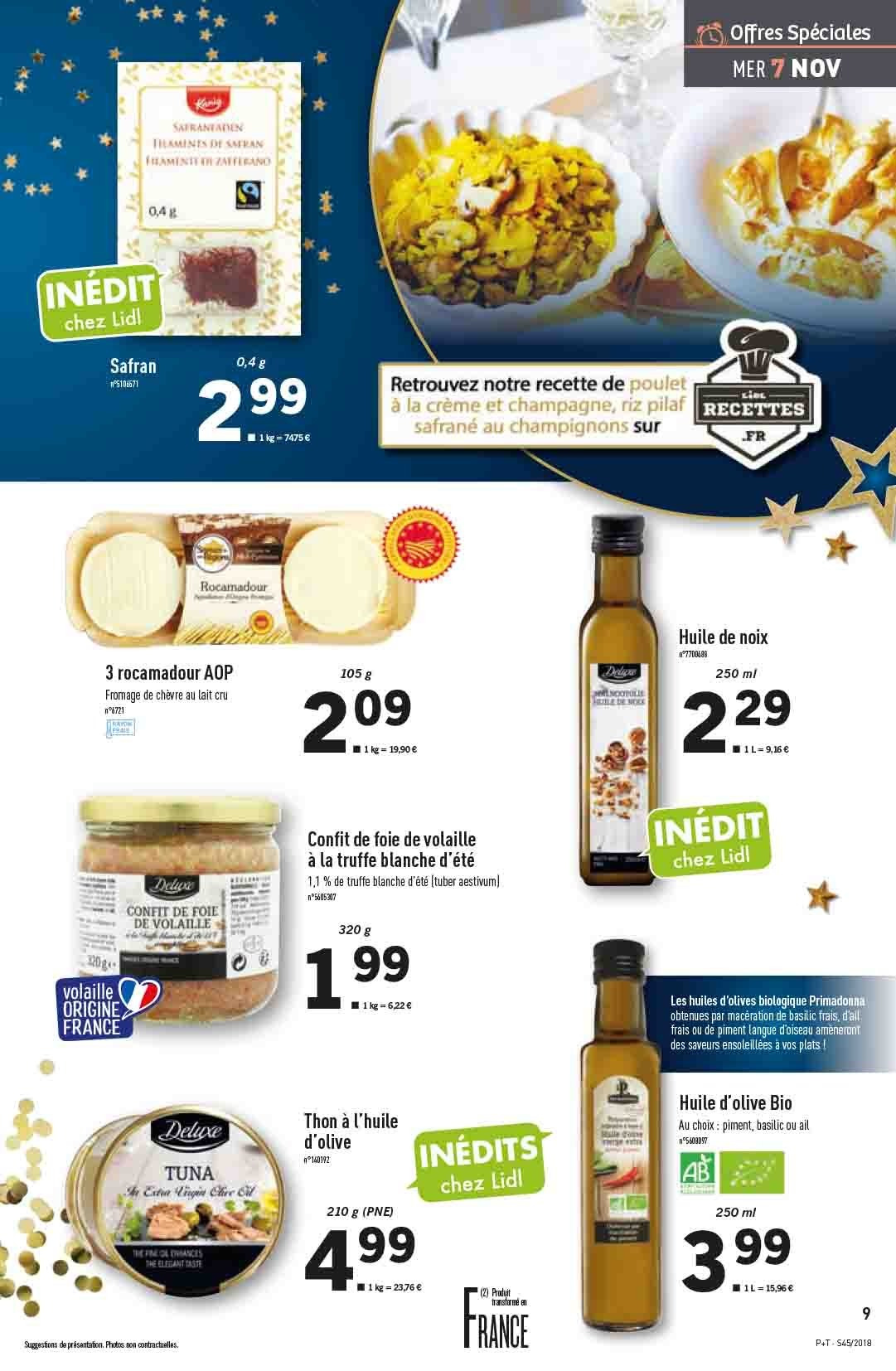 Catalogue Lidl - 07.11.2018 - 13.11.2018. Page 9.