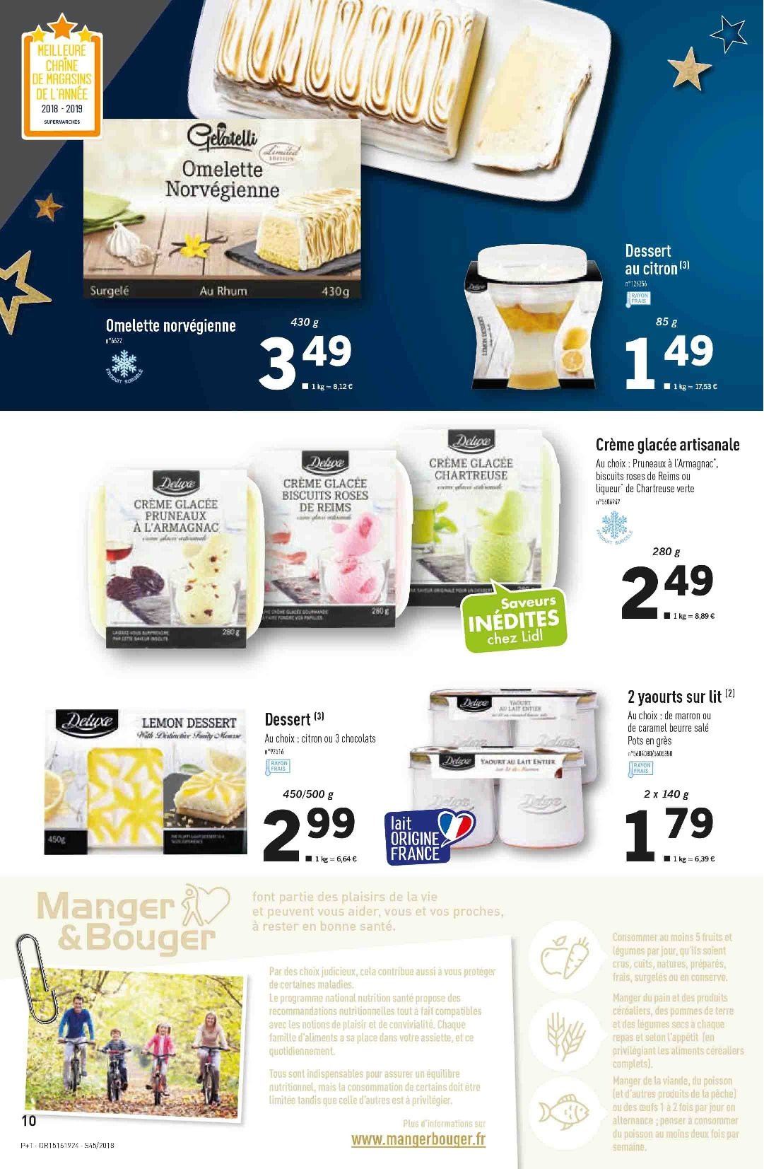 Catalogue Lidl - 07.11.2018 - 13.11.2018. Page 10.