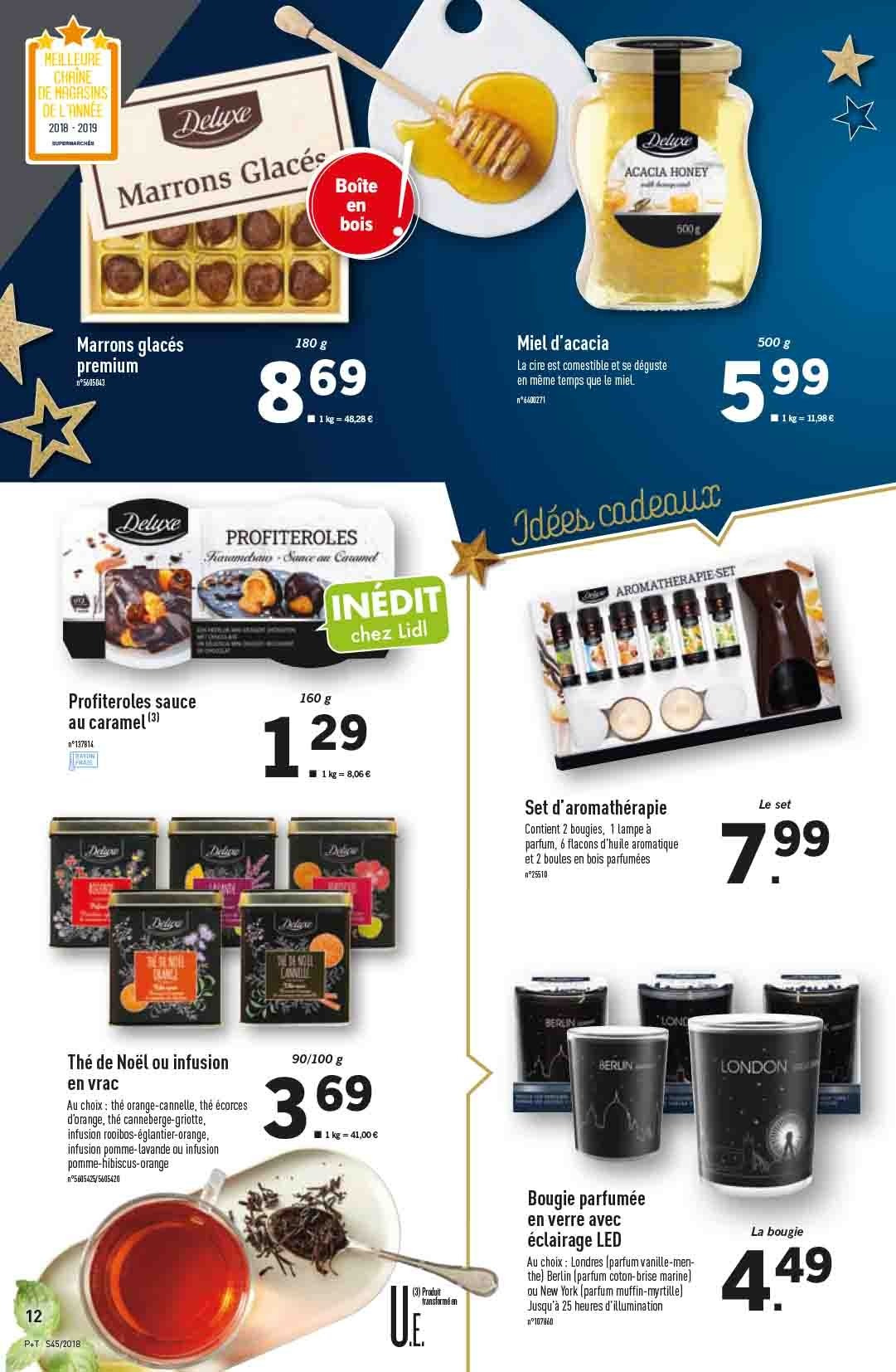 Catalogue Lidl - 07.11.2018 - 13.11.2018. Page 12.